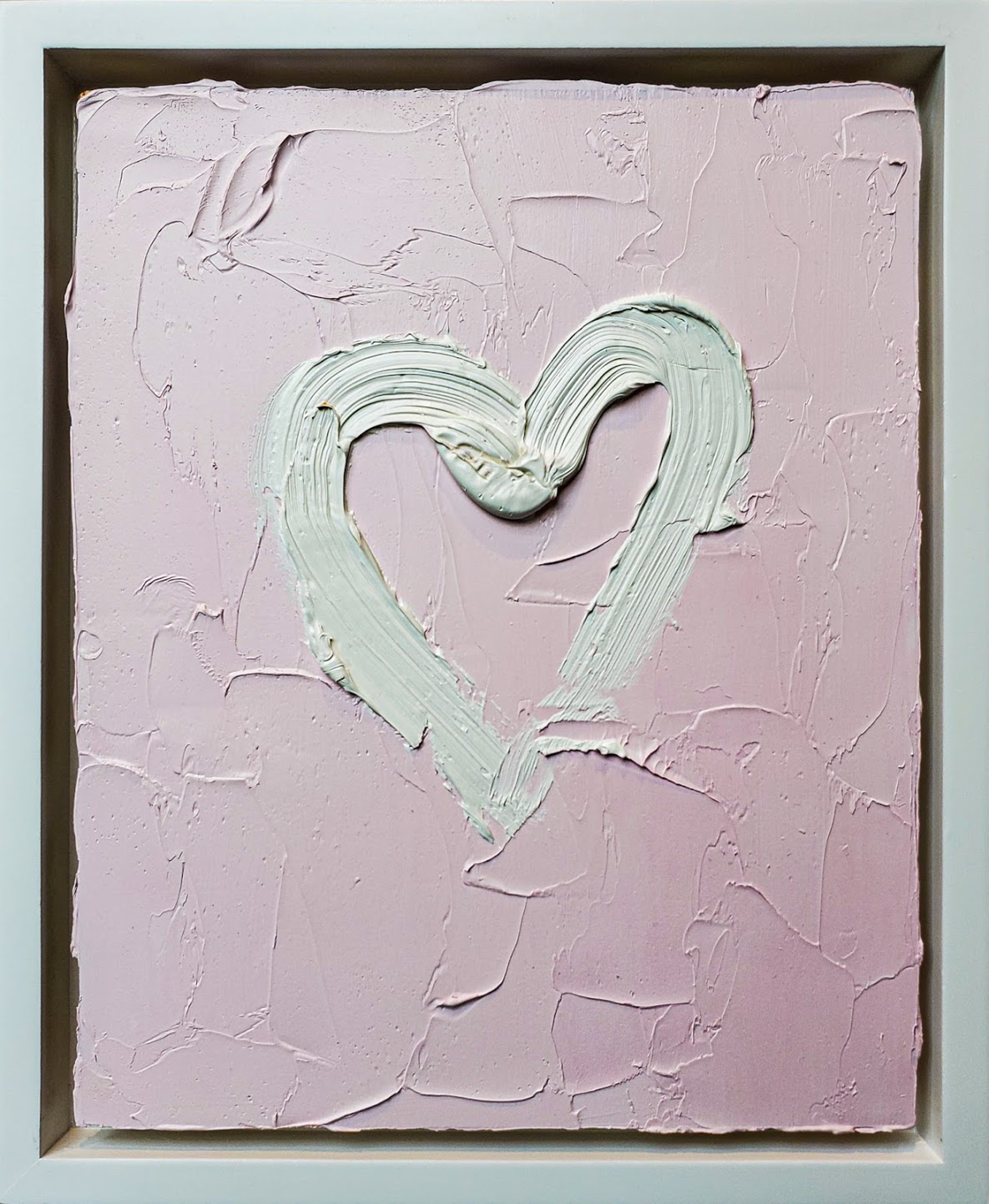My Heart in Baby Pink by Cindy Shaoul