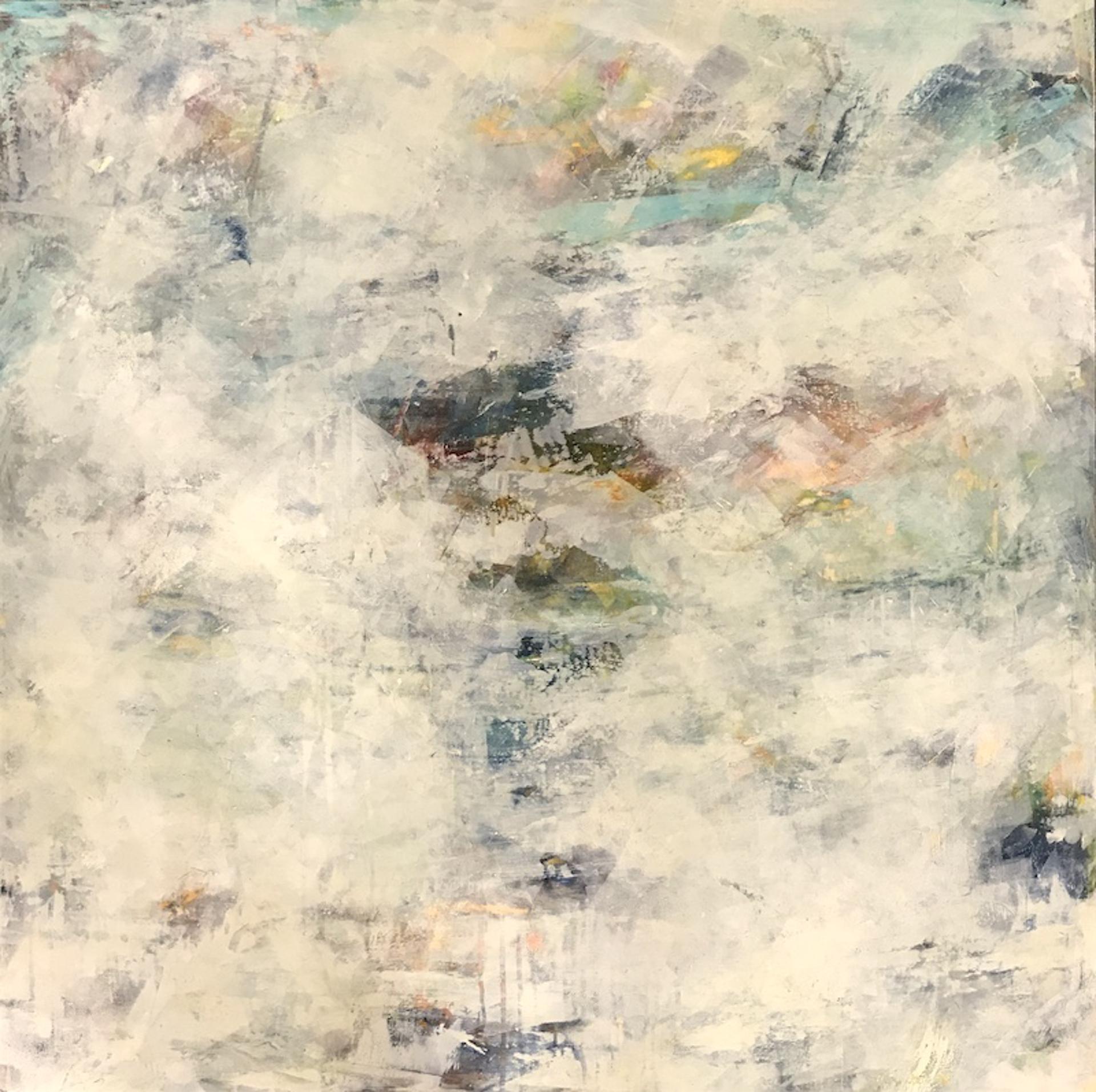 Fog on the Bay by Cindy Walton