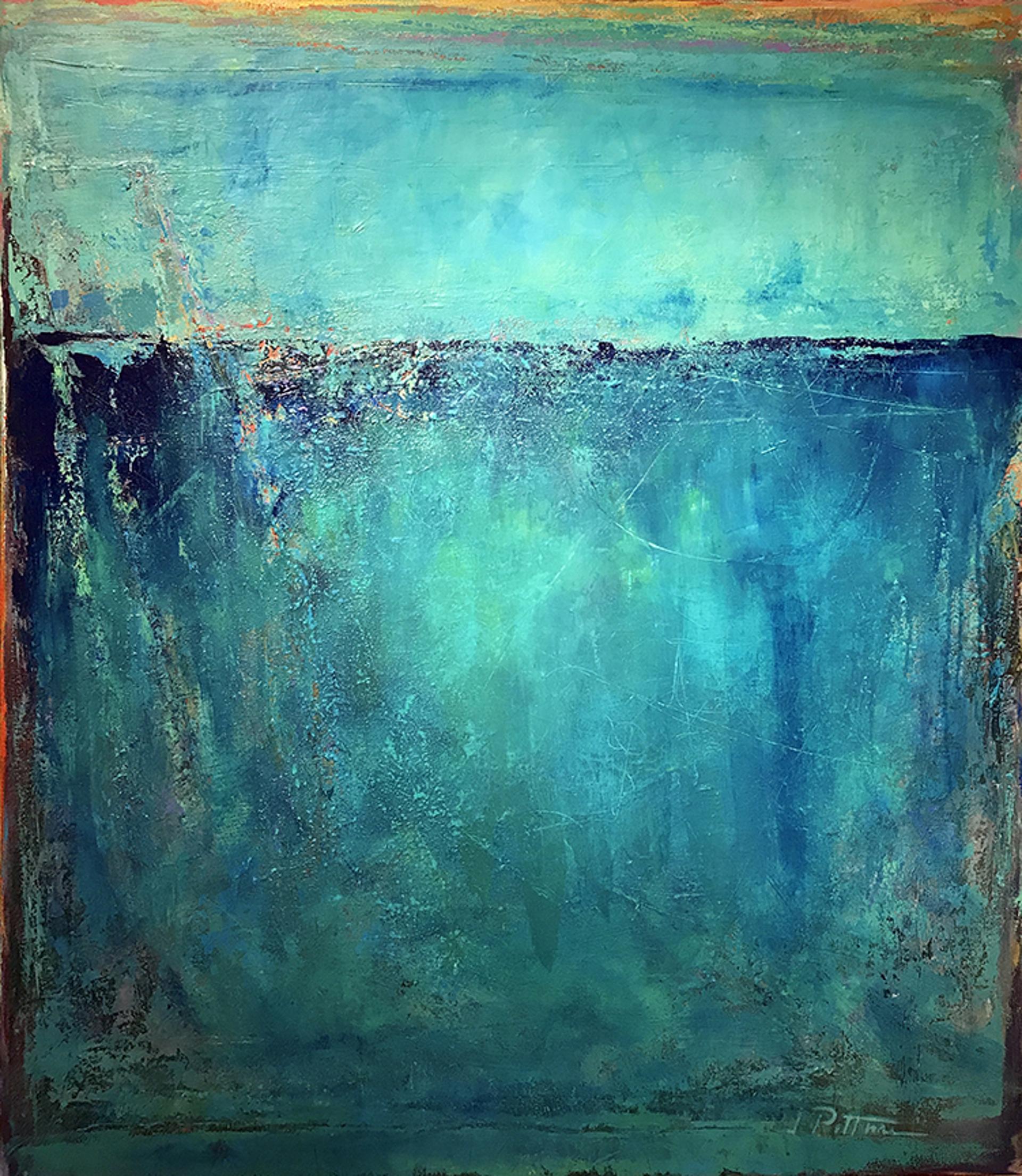 Blue Rain by Jim Pittman