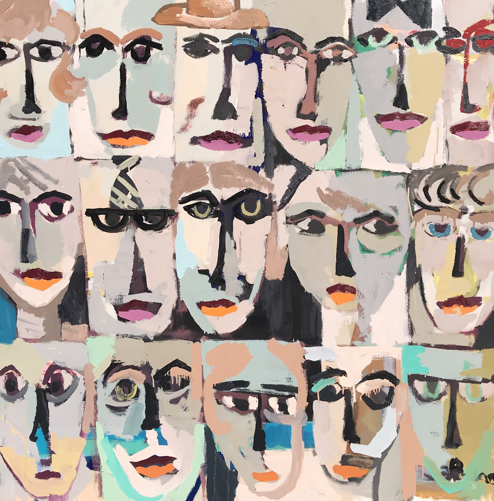 A Sea of Faces by Gary Bodner