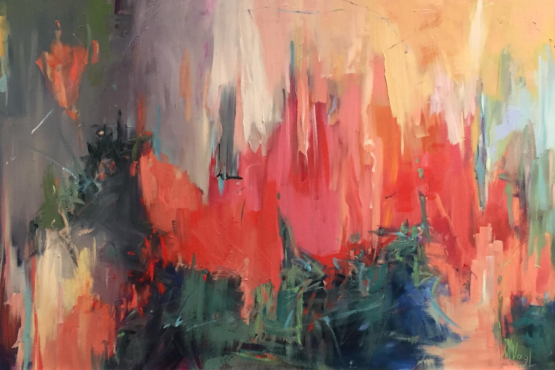 Wetlands on Fire  by Marissa Vogl