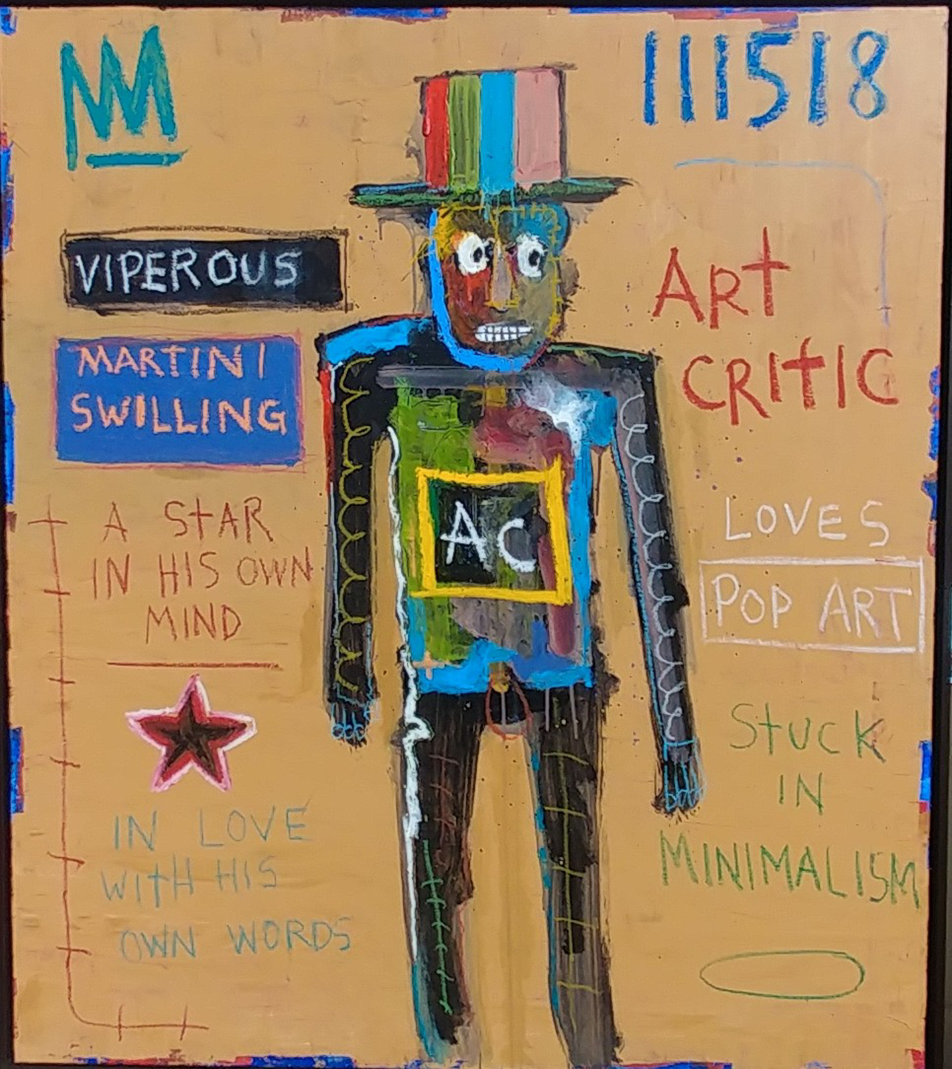 Viperous, Martini Swilling Art Critic by Michael Snodgrass