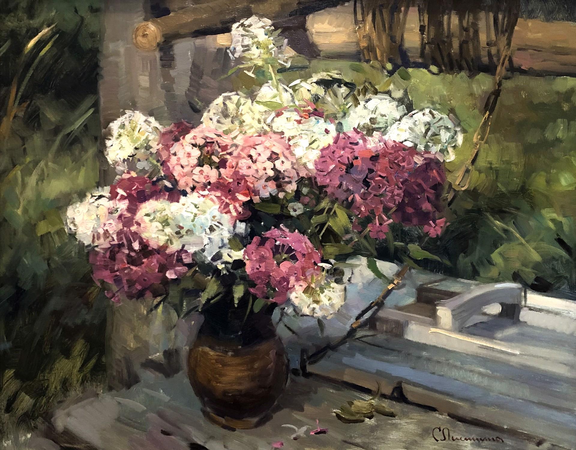 Svetlana S. Lisitsina - Phlox by Russian Artists