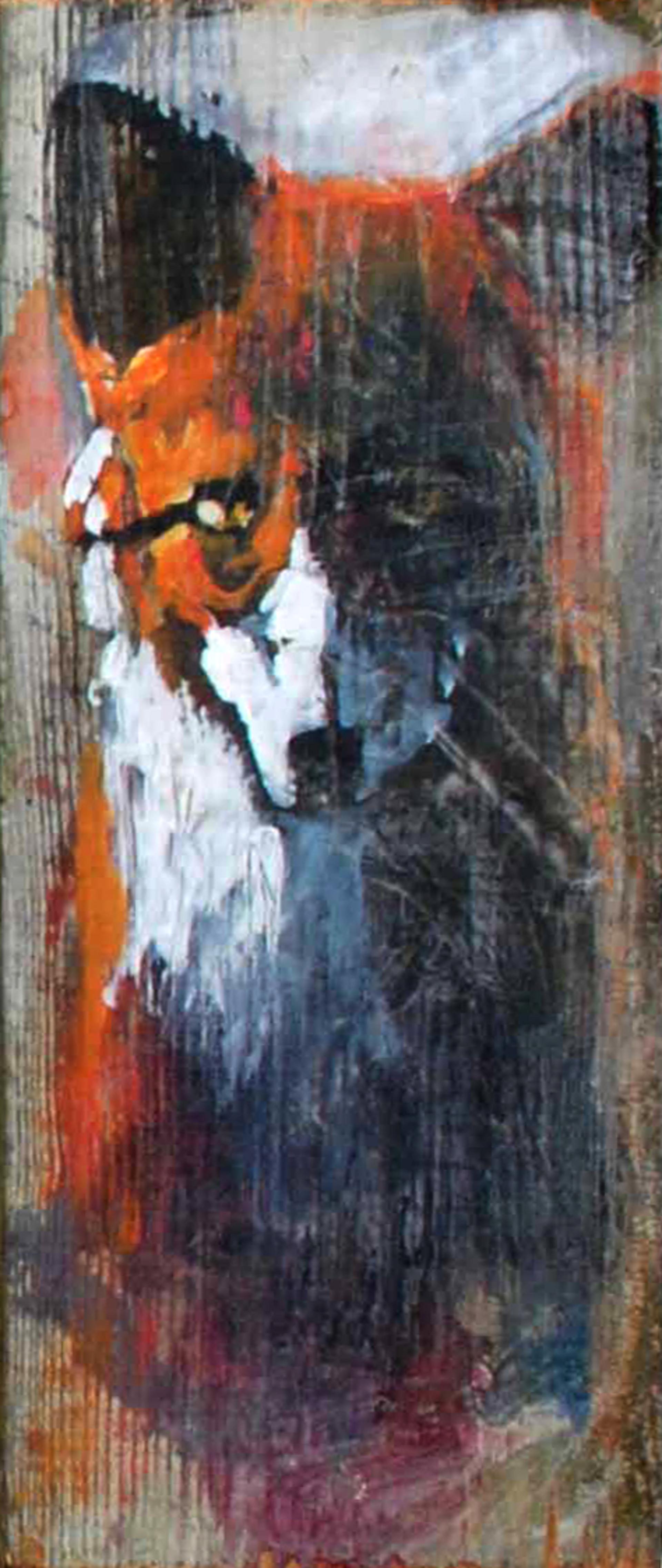 Fox #1 by Susan Easton Burns