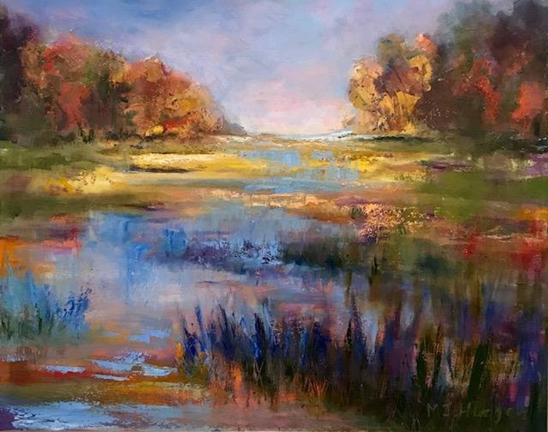 All The Colors by Mary Jane Huegel