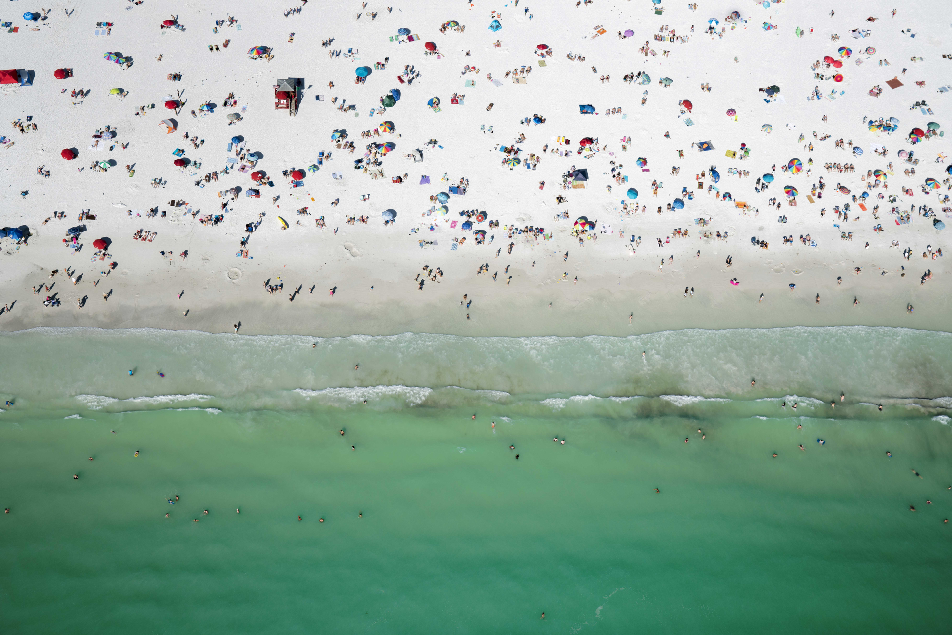 All the People (Siesta Key Florida) Ed. 7/10   by Dinesh Boaz