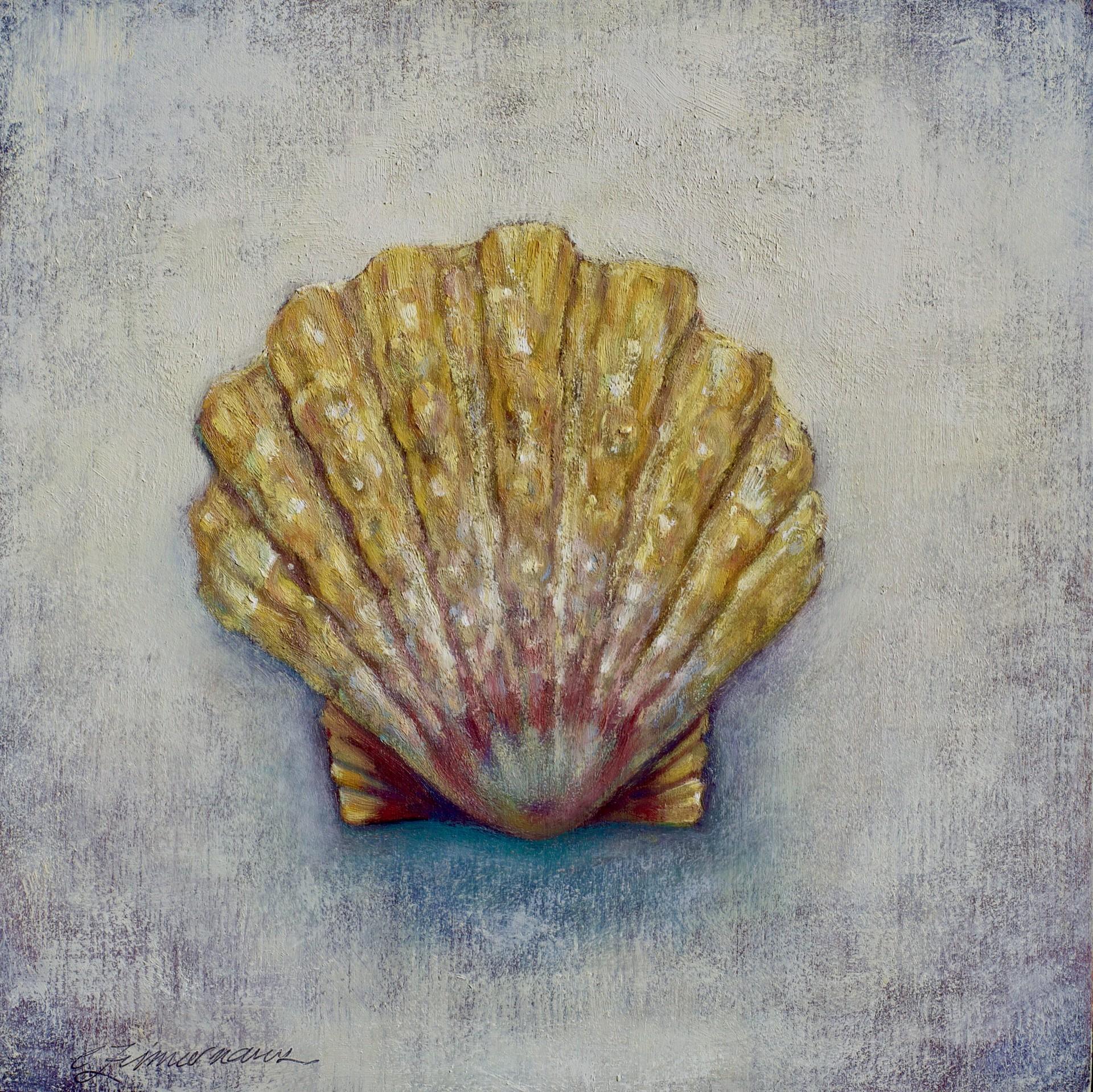 Sunrise Shell 1 by Caroline Zimmermann