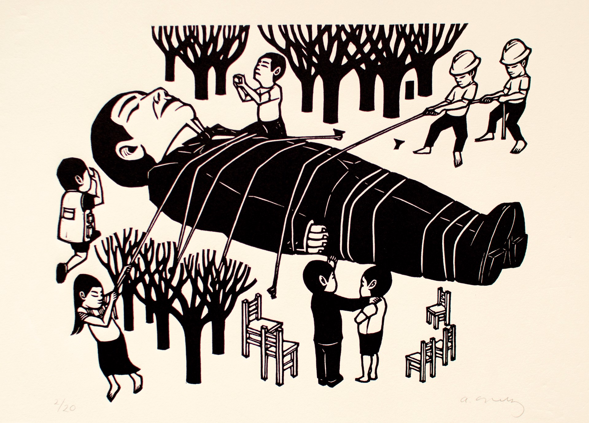 Untitled (Gigante) by Alberto Cruz