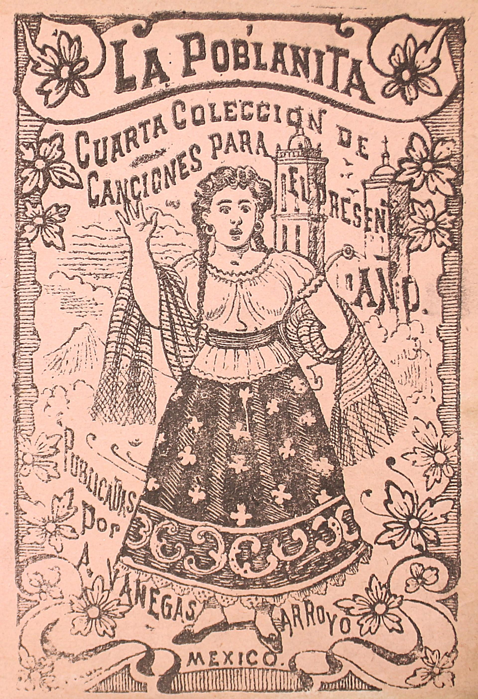 La Poblanita. Cuarta Colección de canciones para el presente ano. by José Guadalupe Posada (1852 - 1913)