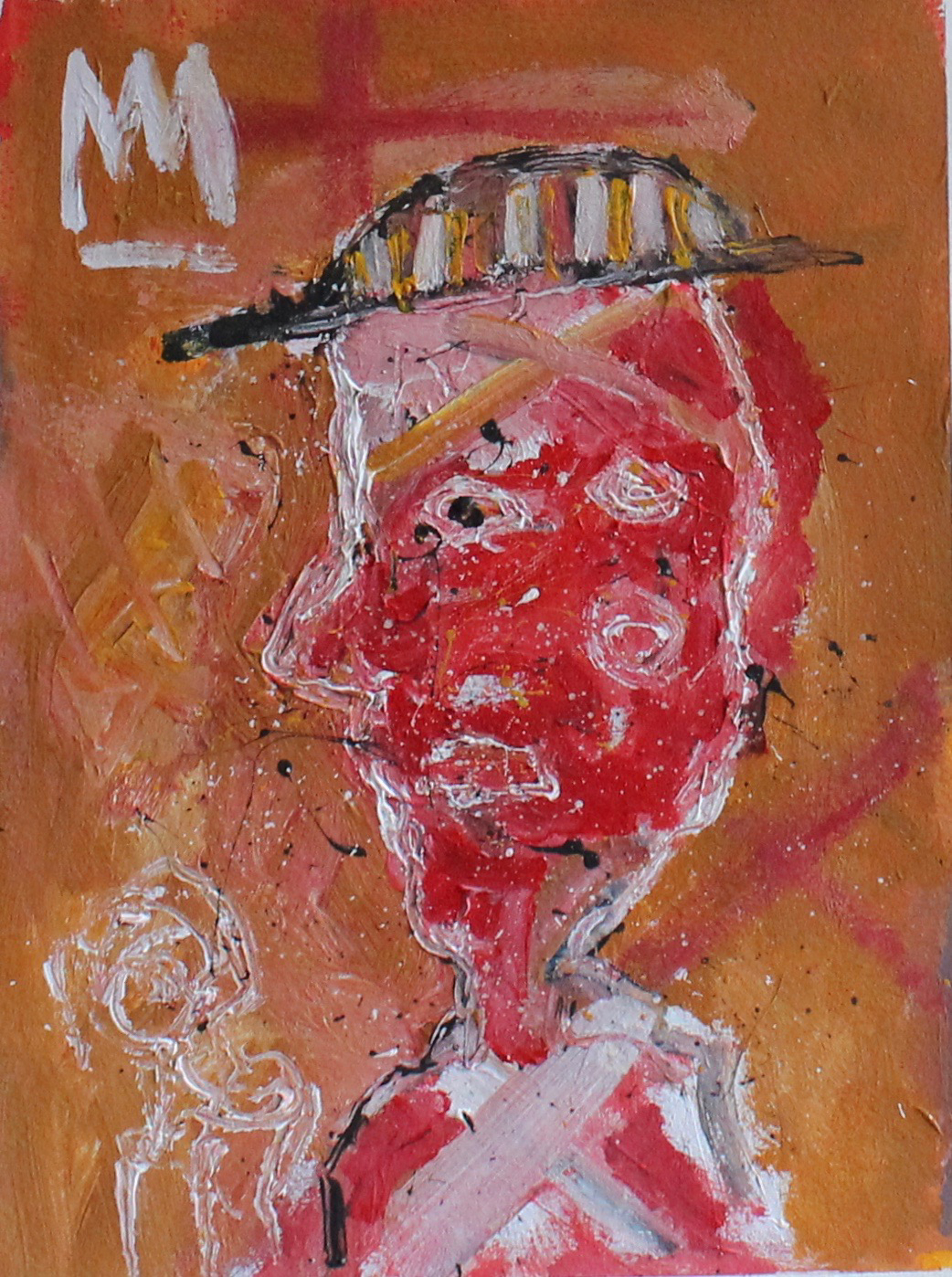 Red Faced Man by Michael Snodgrass
