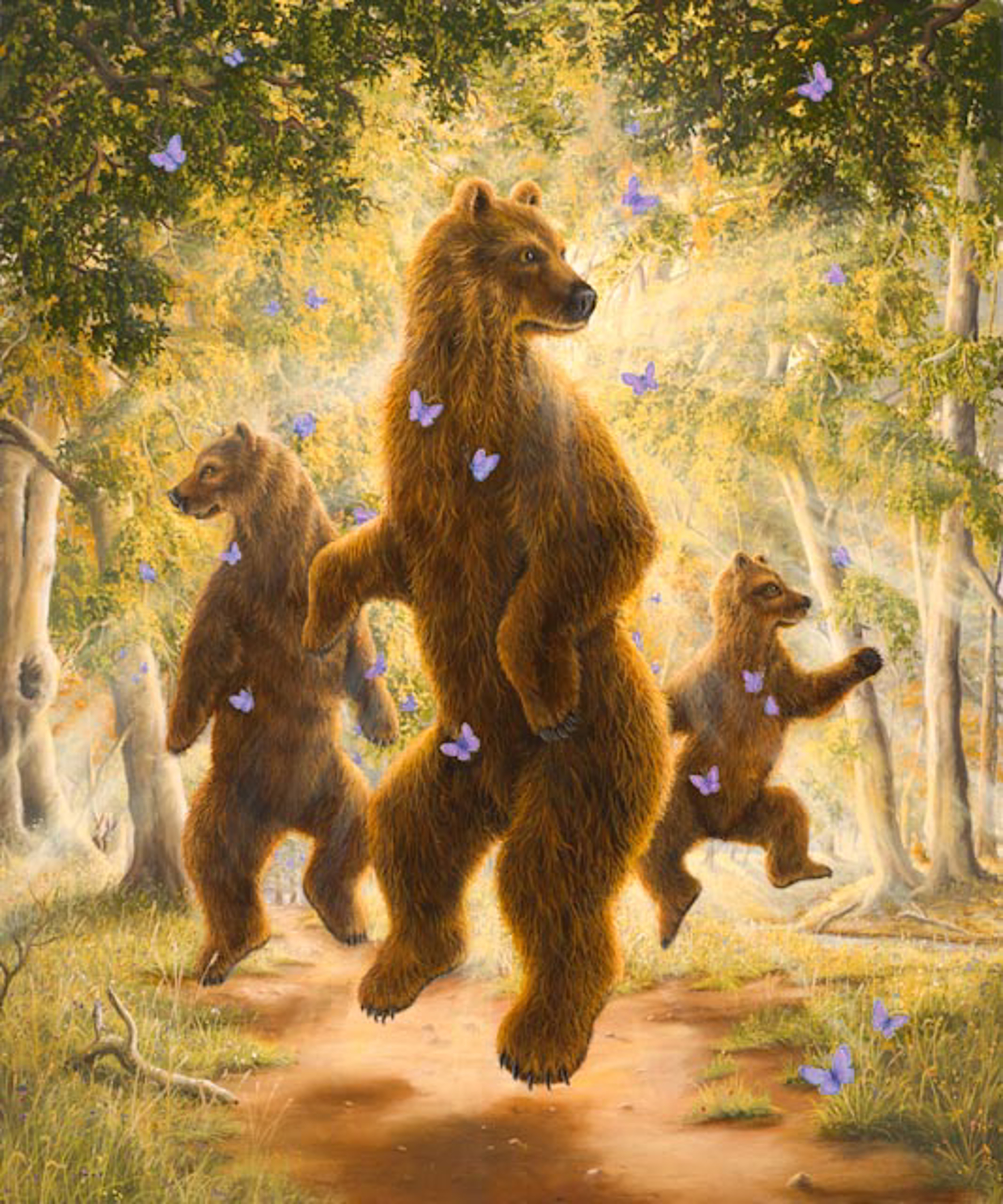 The Dancers by Robert Bissell