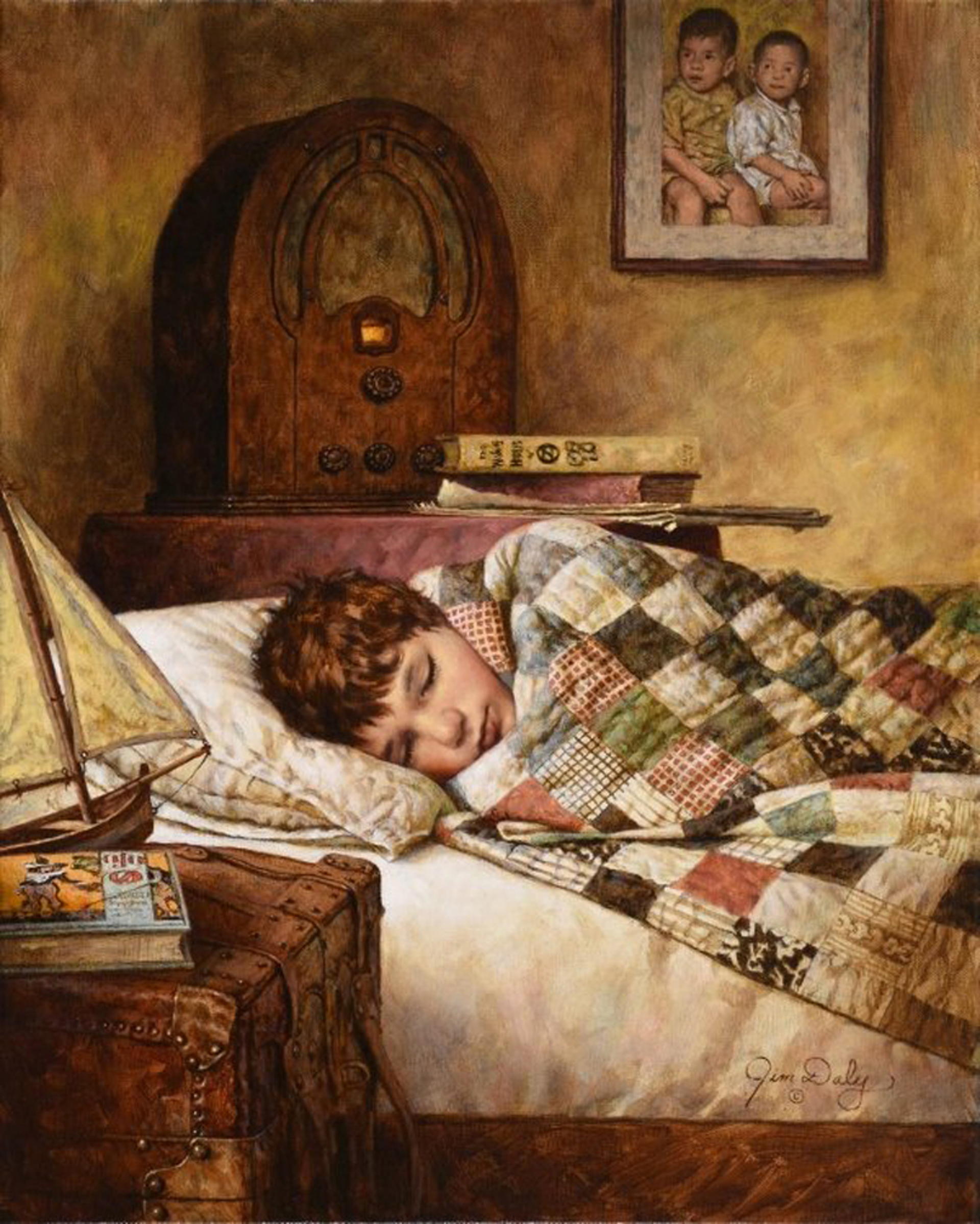 Fast Asleep by Jim Daly