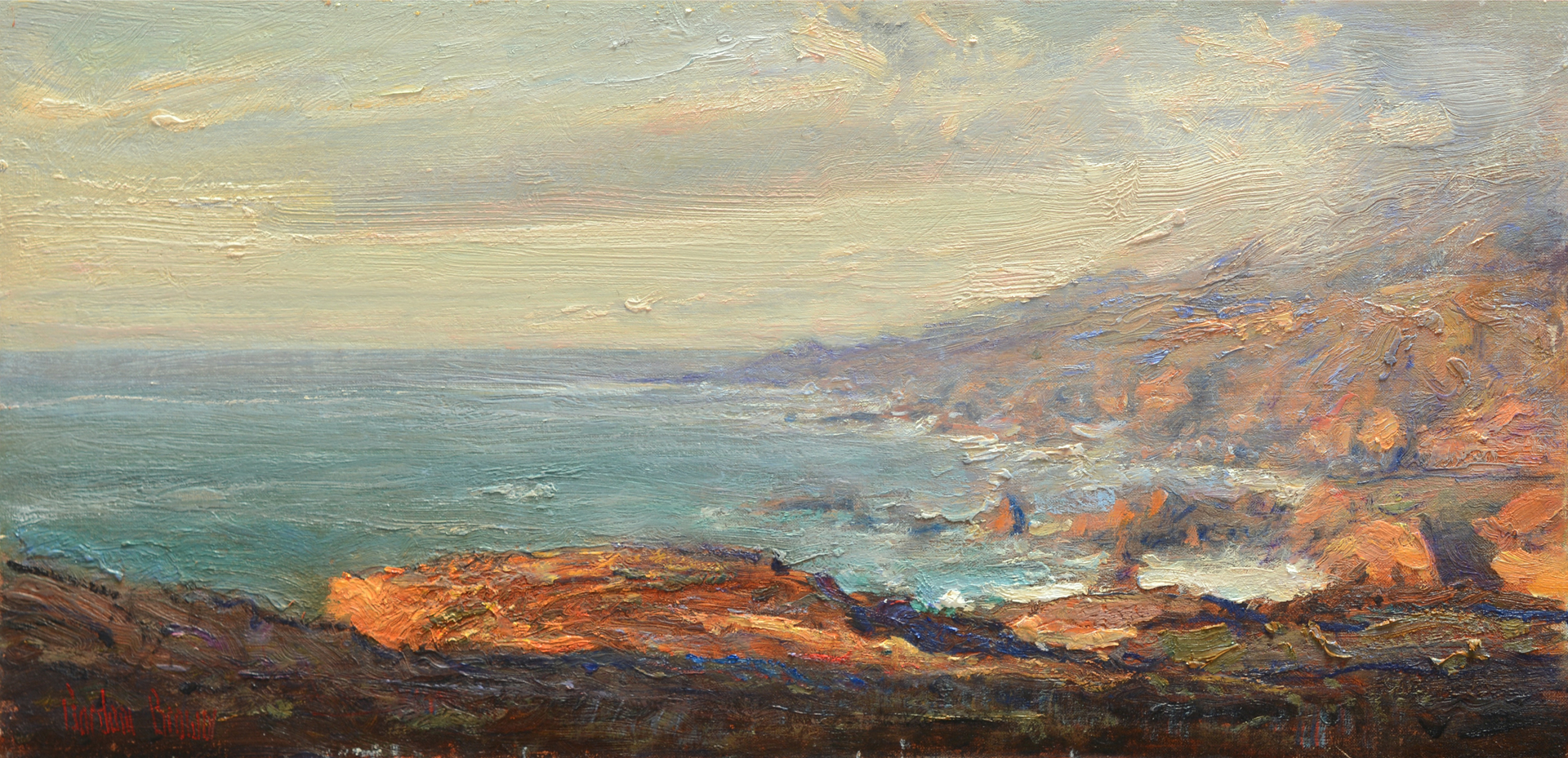 California Coastline by Gordon Brown