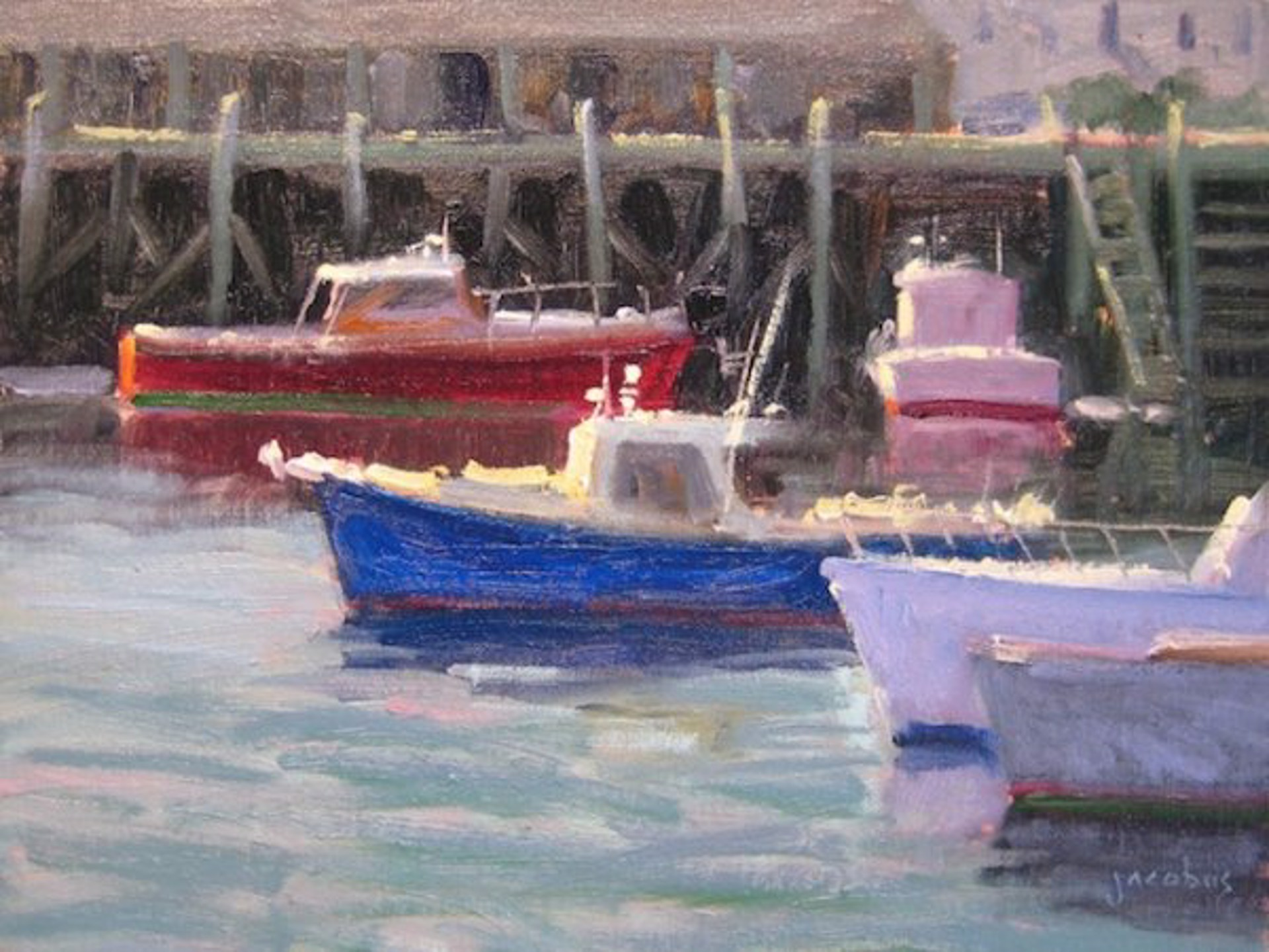 Jacobus : Lobster Boats by Jacobus Baas