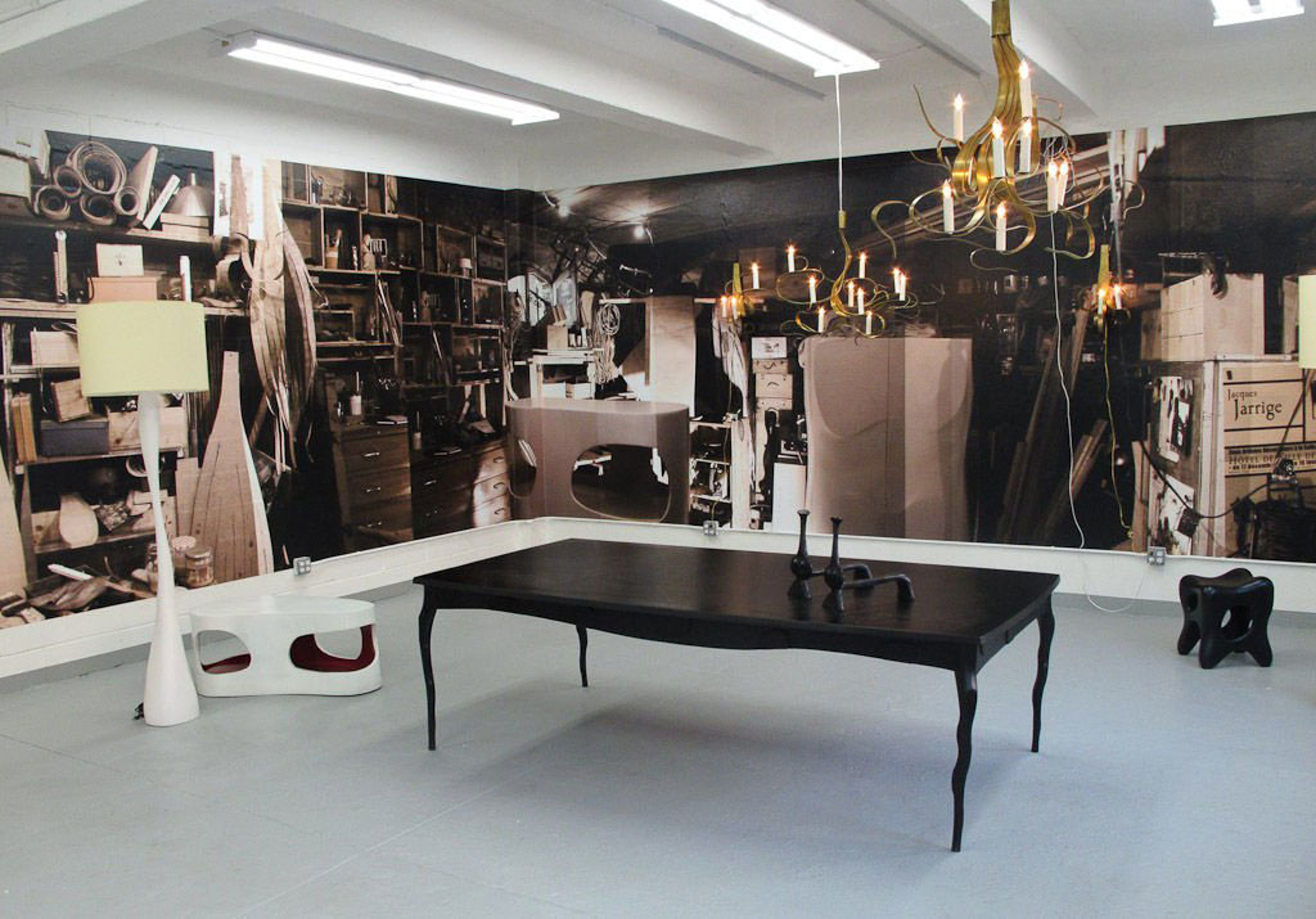 """""""Torquemada"""" Dining Table by Jacques Jarrige"""
