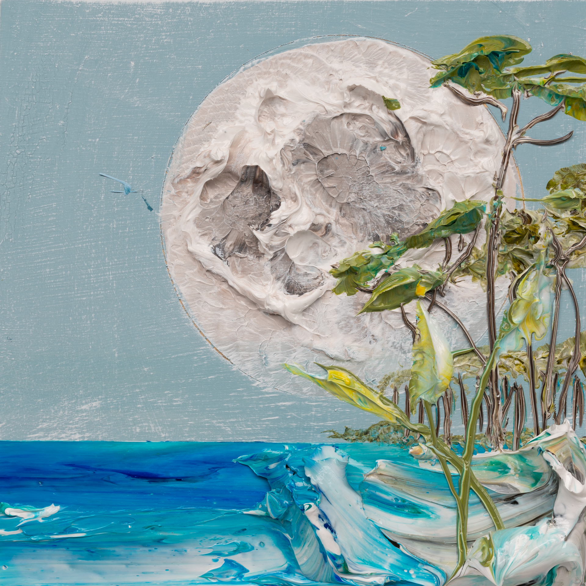 MOONSCAPE MS-12X12-2019-321 by JUSTIN GAFFREY