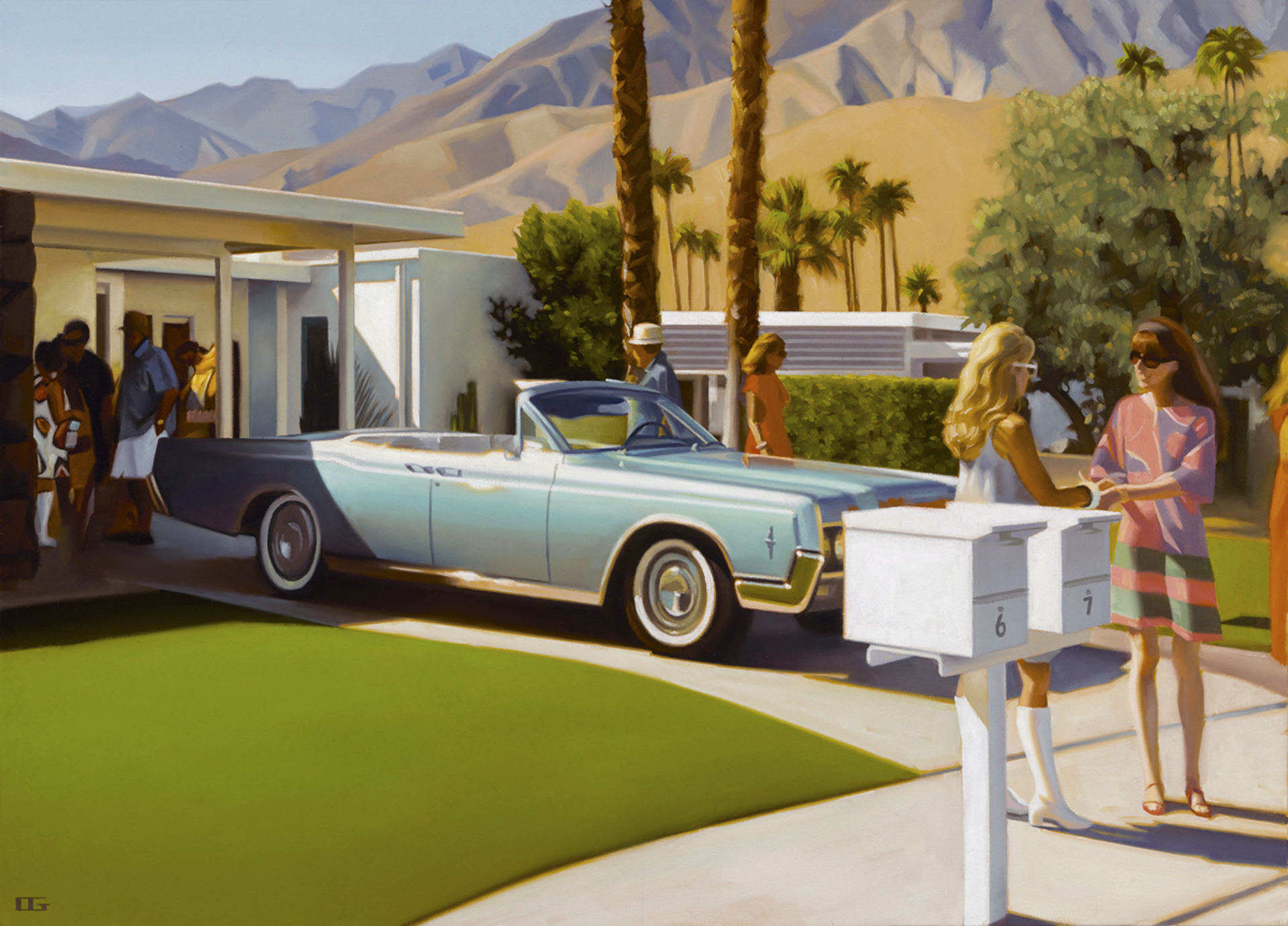 Cul de Sac Party by Carrie Graber