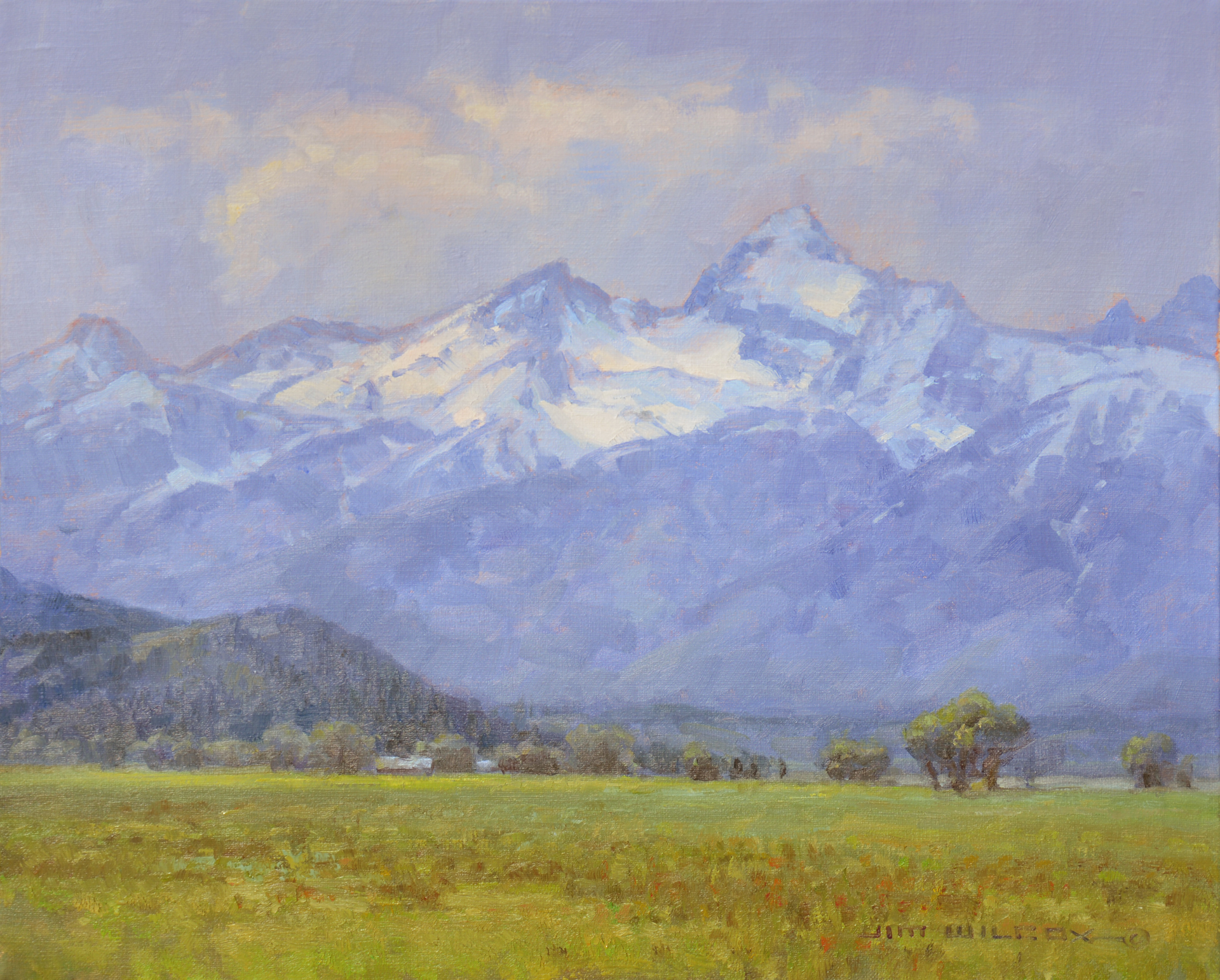 Spring in the Valley by Jim Wilcox