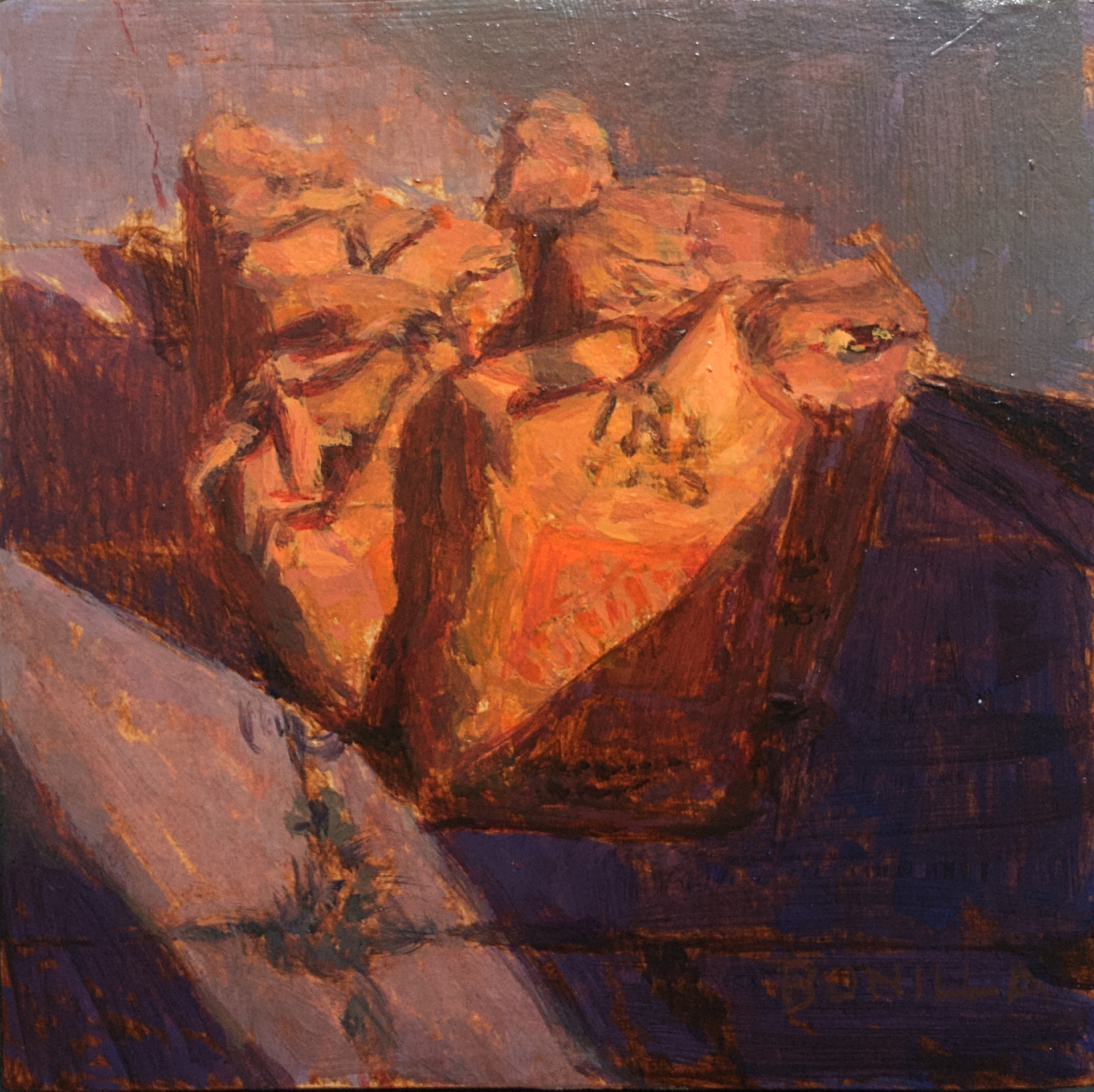 Study for by the Breadhive by Raymond Bonilla