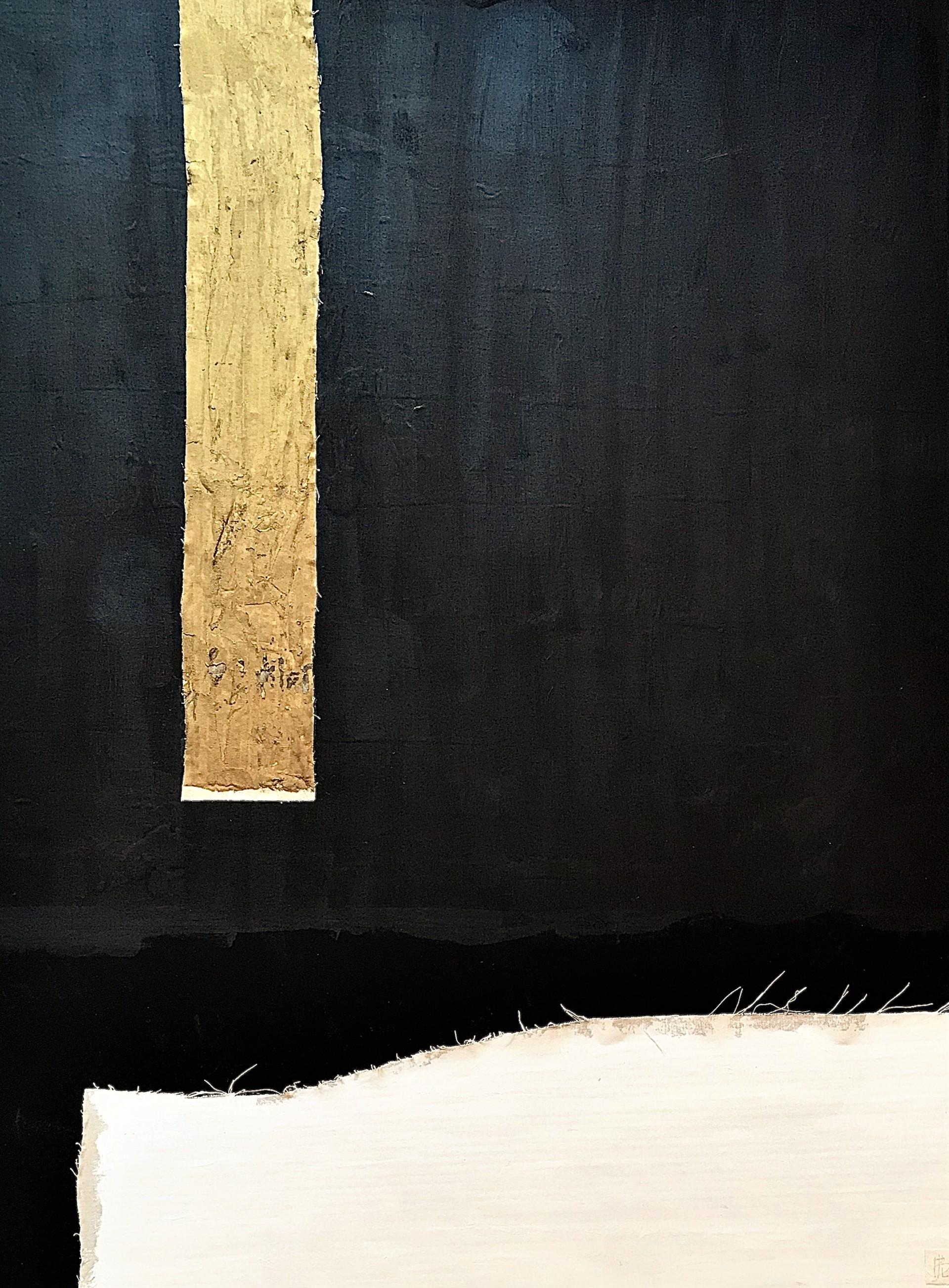 Noir et Blanc No. 1 by Leslie Poteet Busker