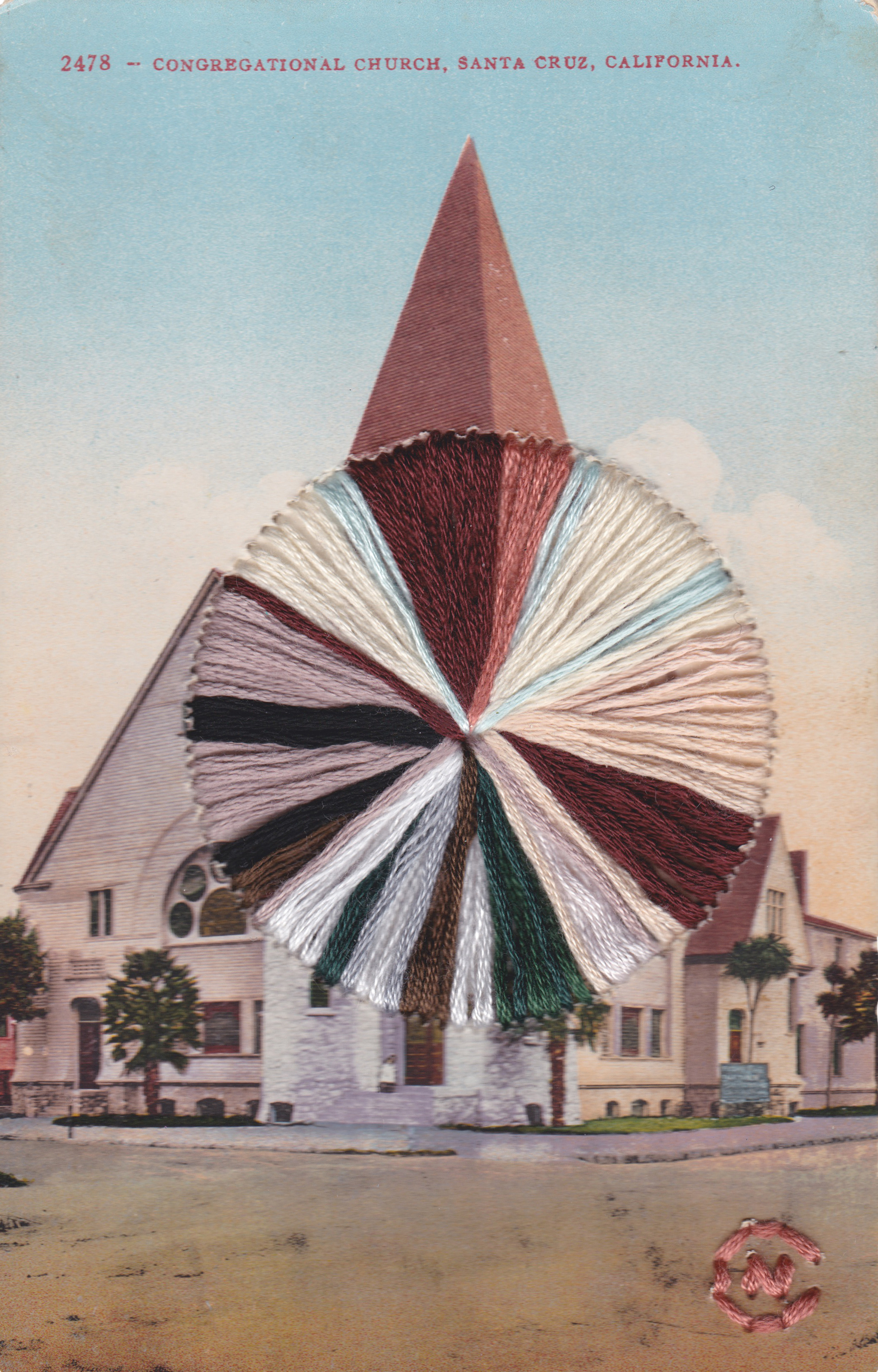 Santa Cruz Church by Natalie Ciccoricco
