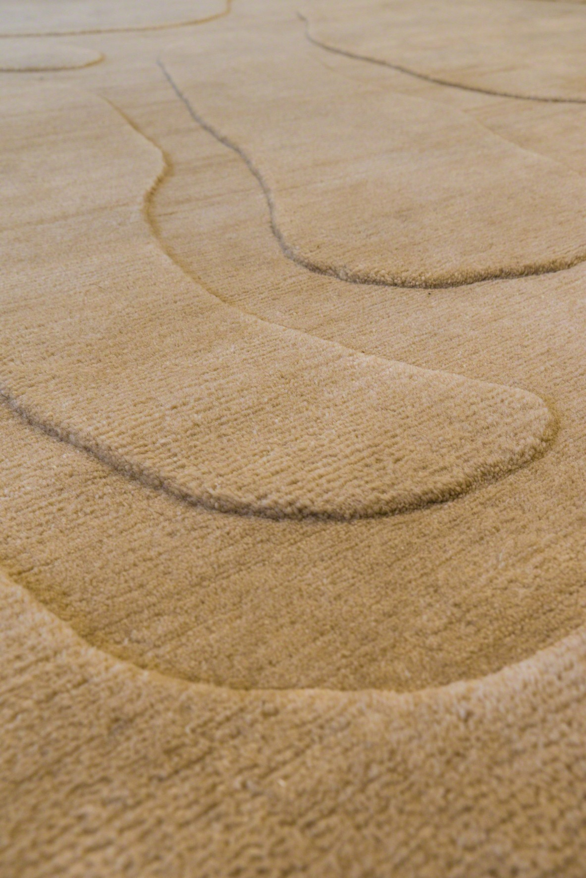 """Meanders"" Rug  by Jacques Jarrige"
