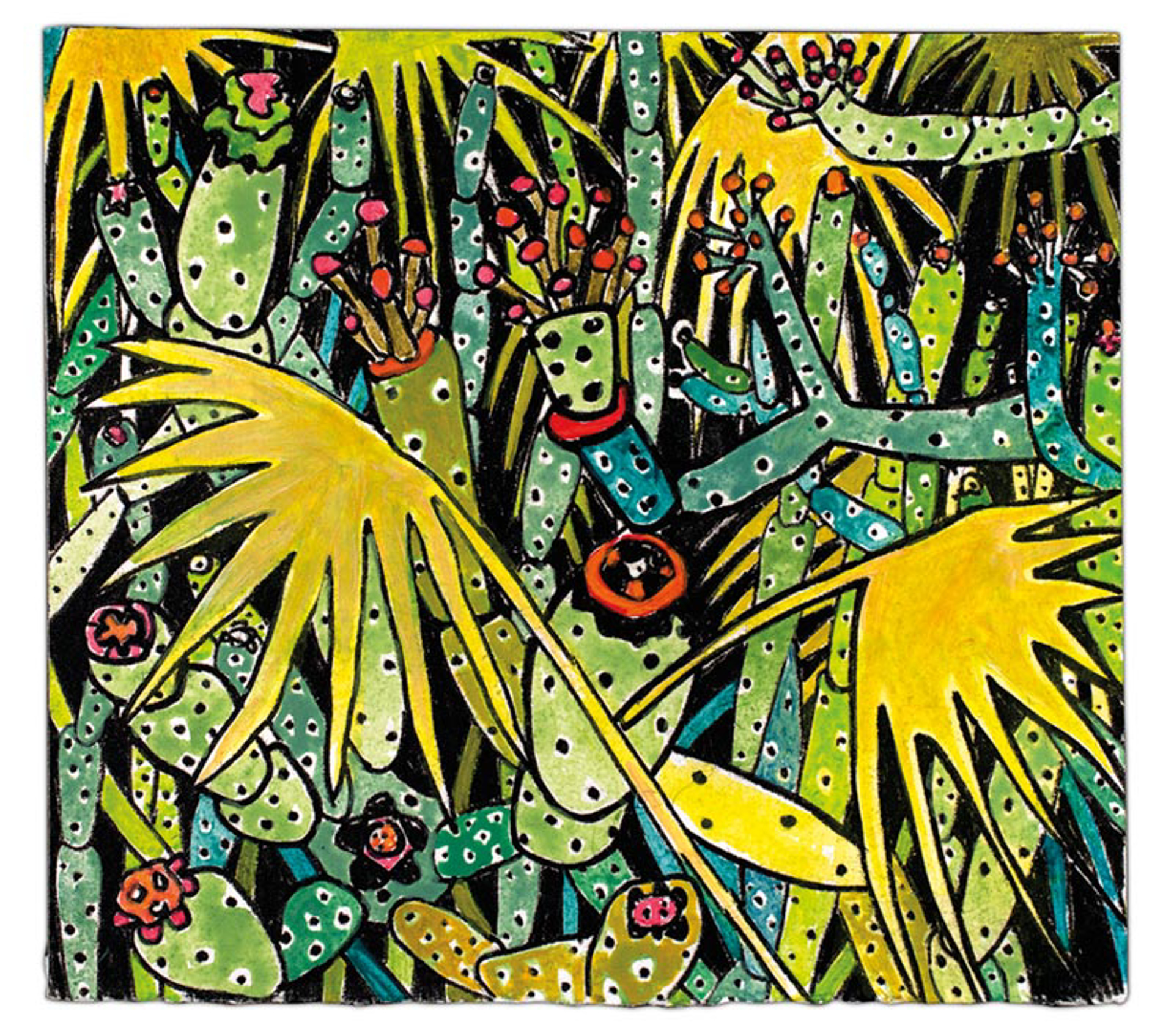 Lotusland 7 by Rebecca Hermann