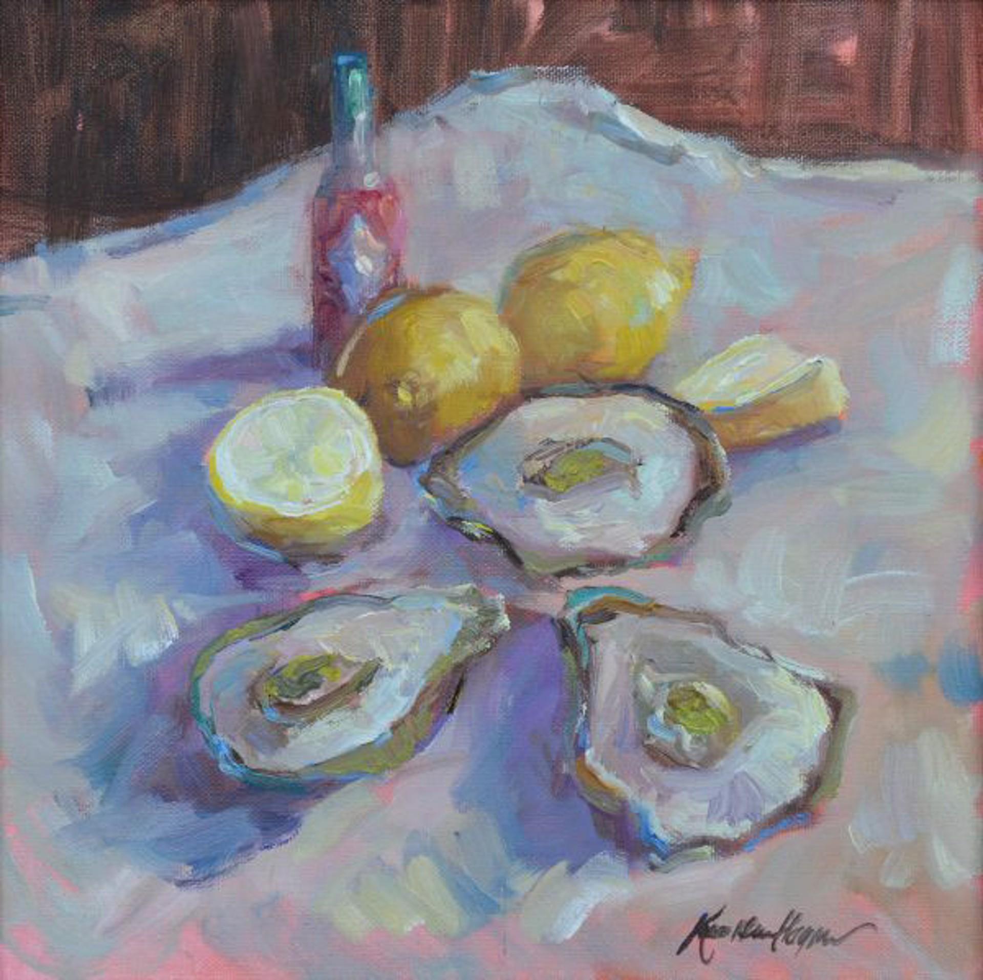 Oyster Feast by Karen Hewitt Hagan