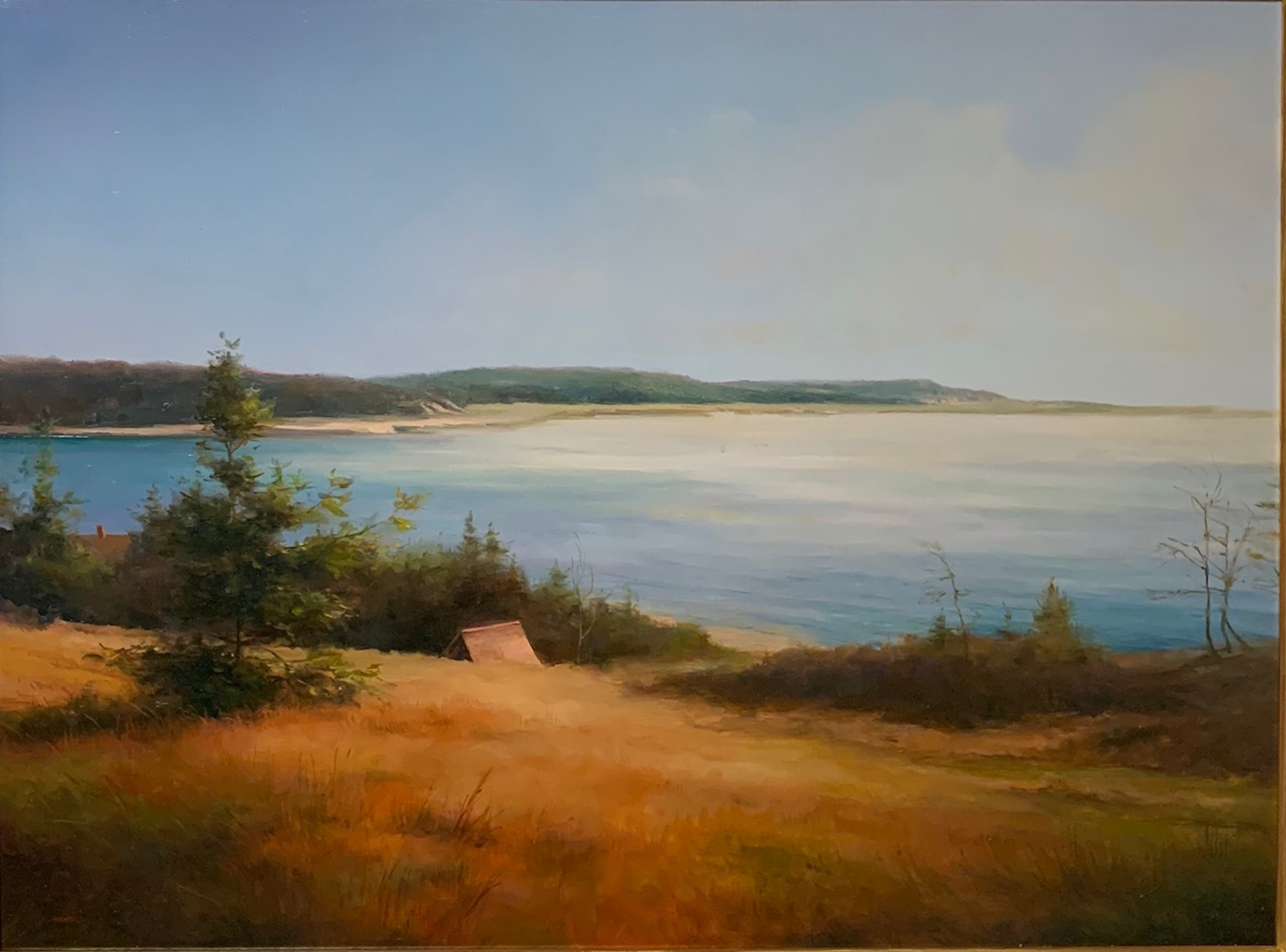 View to the Sea by Arnold Desmarais