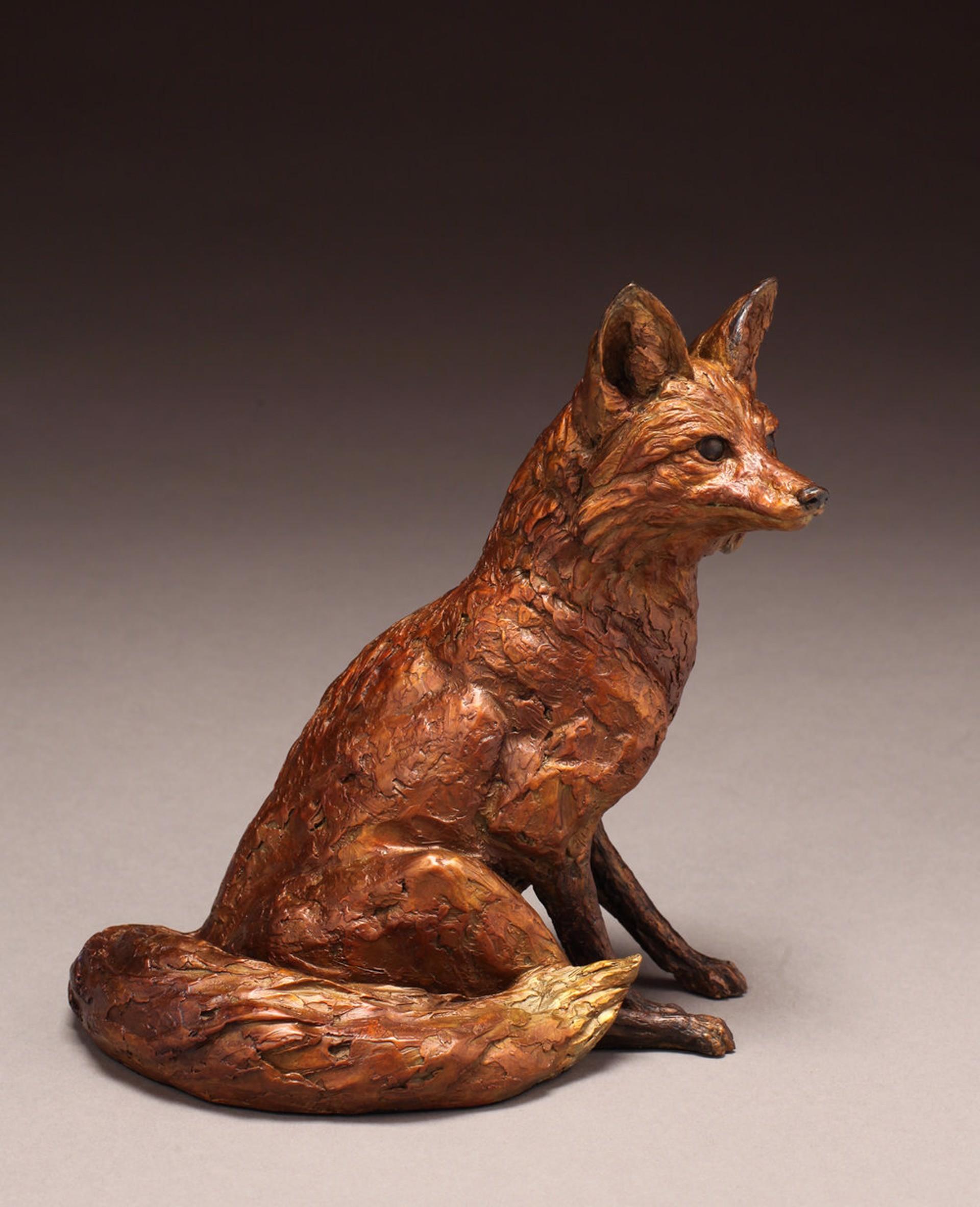 Resting Fox by Eugene Morelli