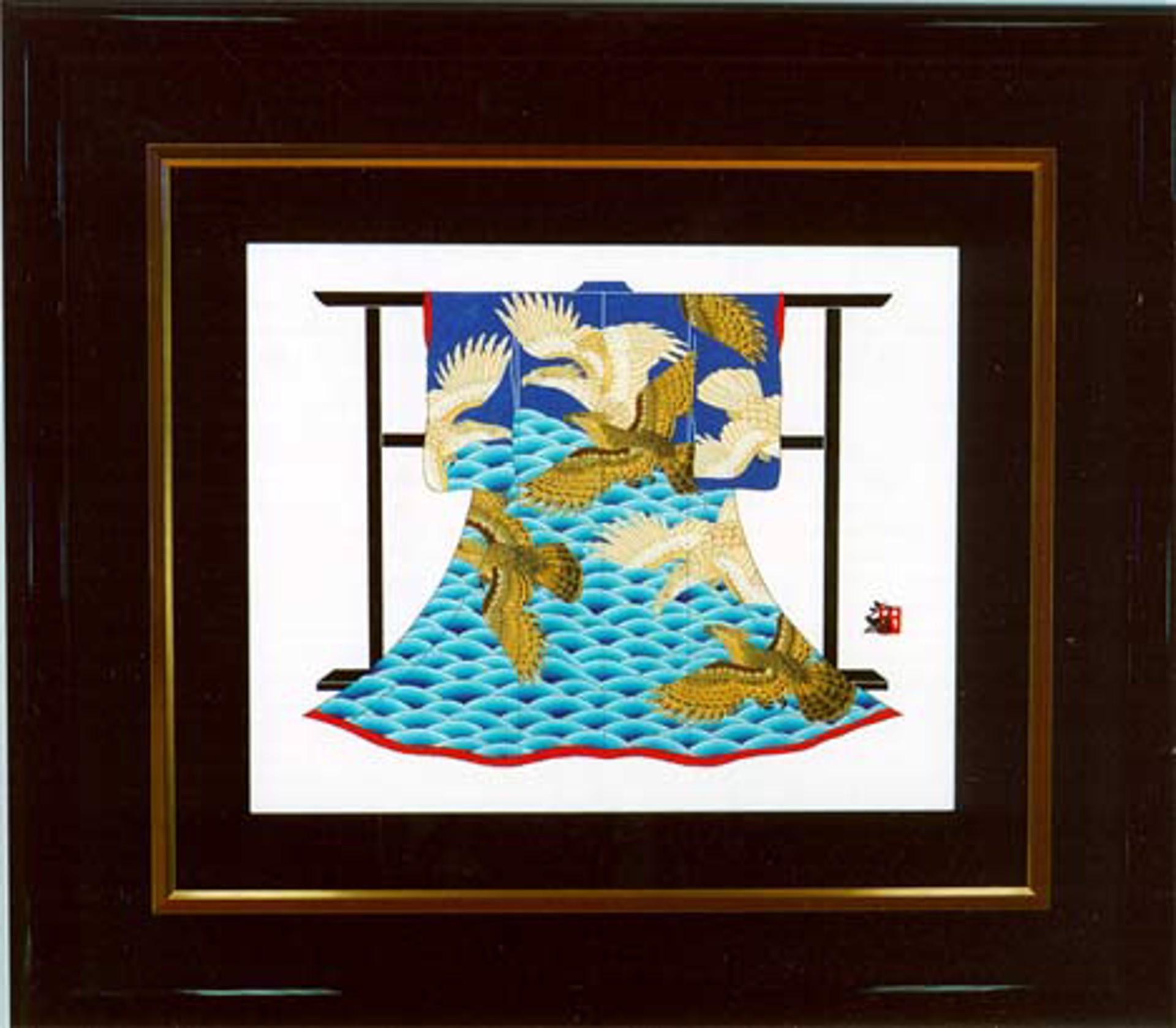 Wave With Hawk by Hisashi Otsuka