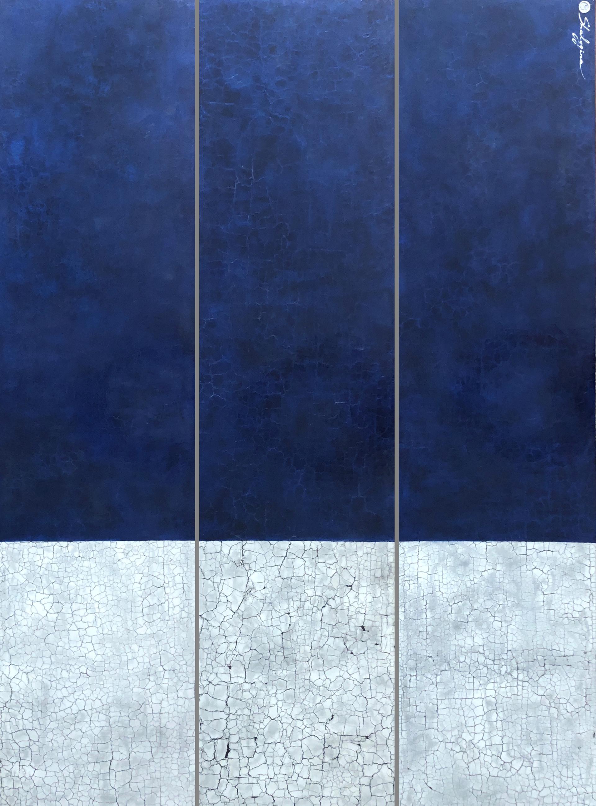 Fifty Shades of Blue #20 by Svetlana Shalygina