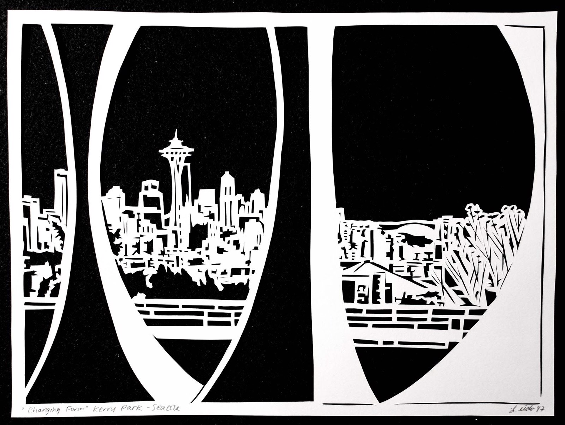 Changing Form, Kerry Park by Lauren Iida | Early Works