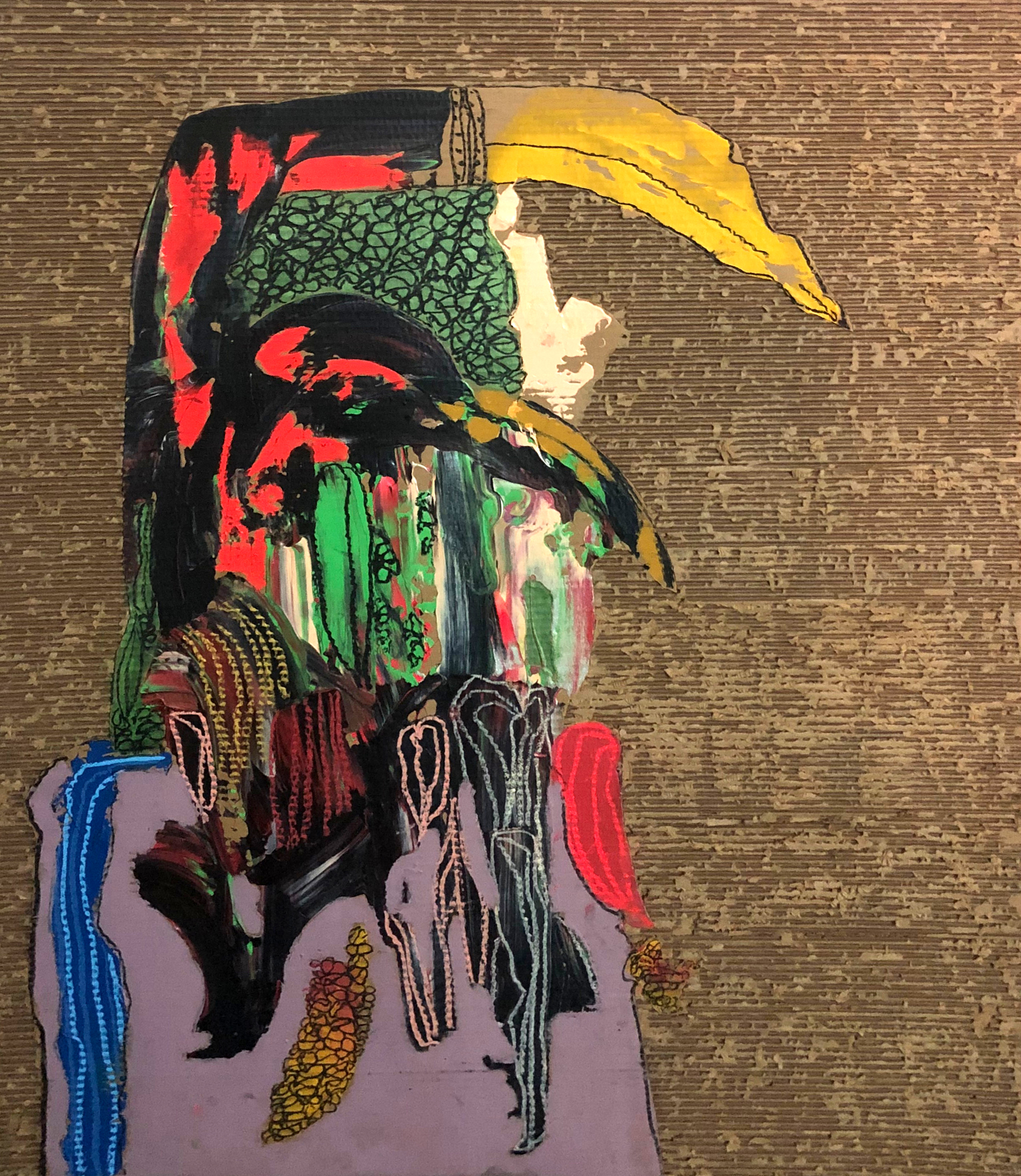 Indigenous Contemporary No. 78 by Jonathan Paul Jackson