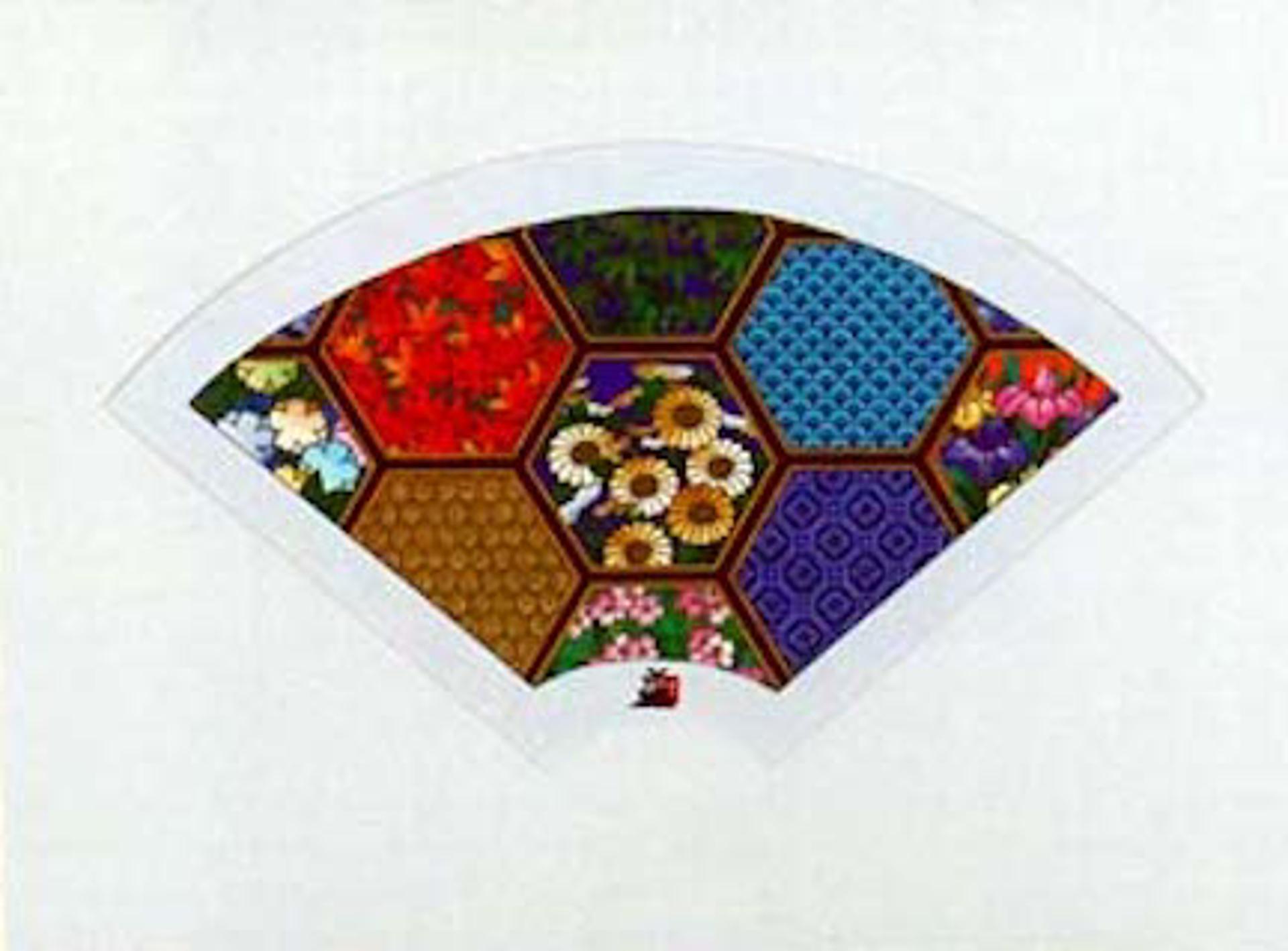 Fan Honeycomb by Hisashi Otsuka