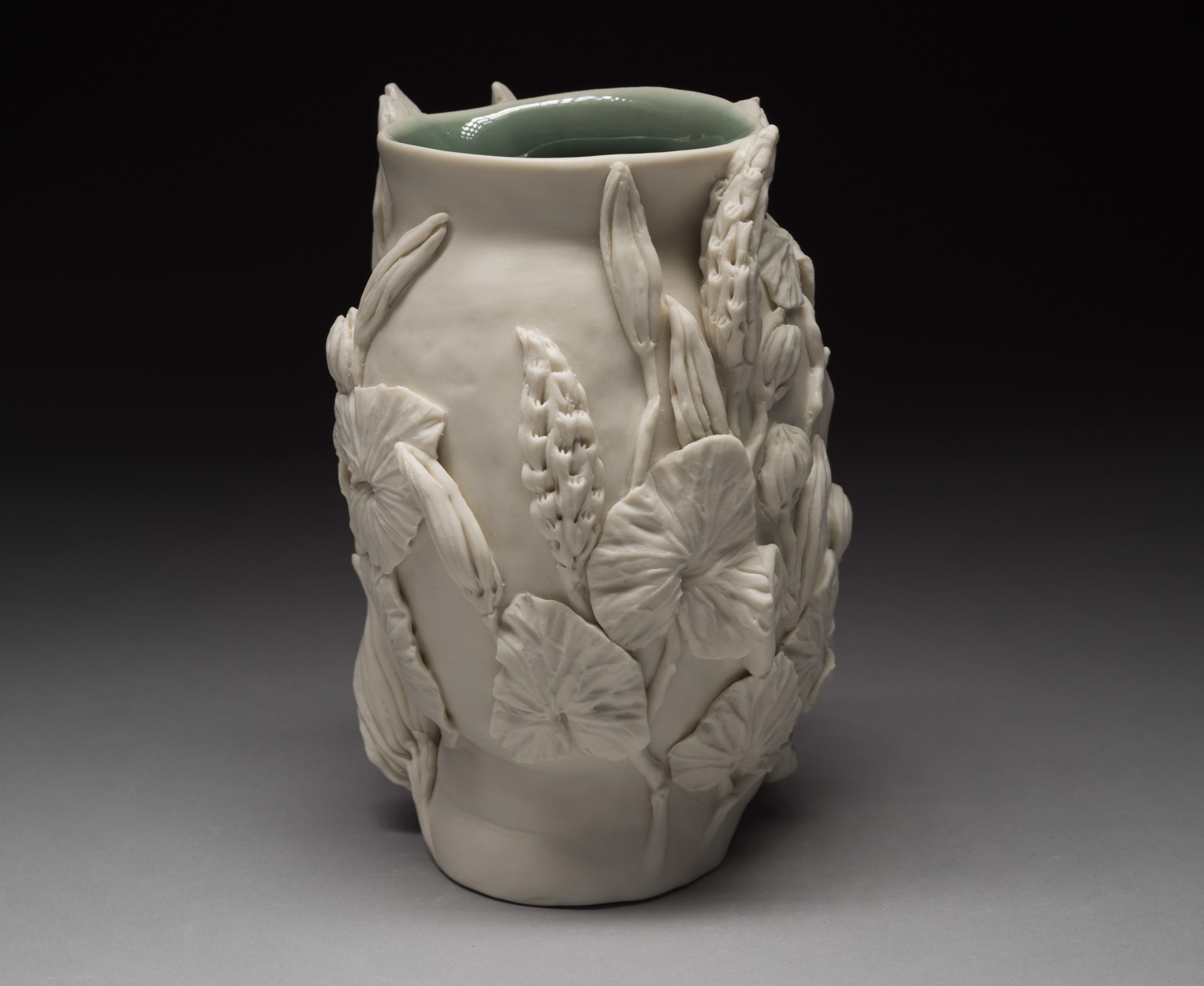 """Flora Vase with Eyes Closed"" by Adrian Arleo"