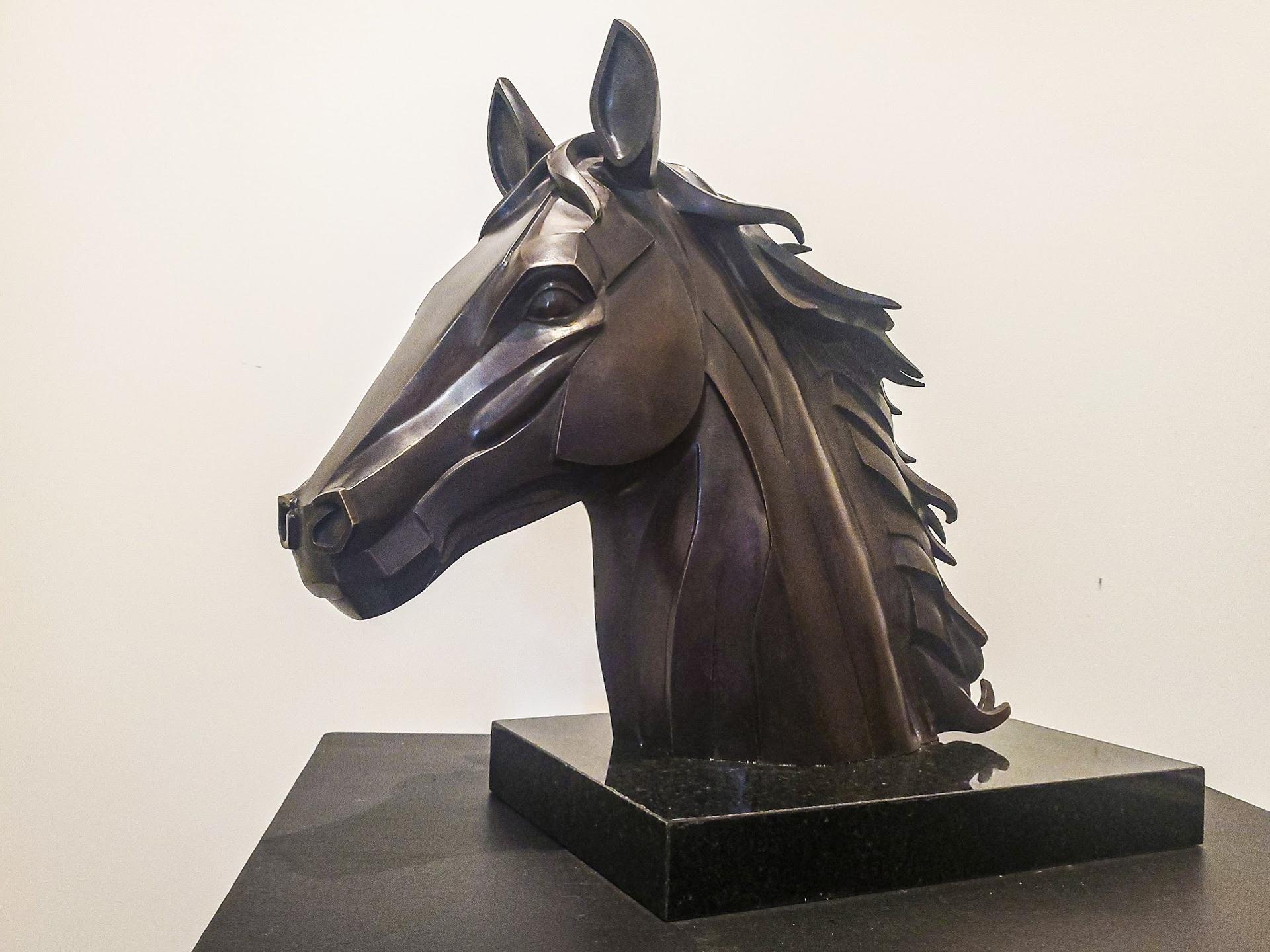 Cubist Horse II by Jennifer Troice