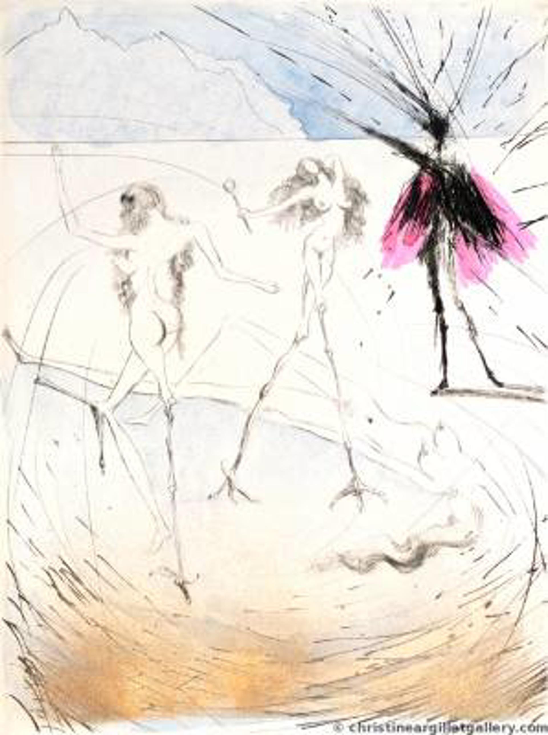 "Faust ""Hen Women"" by Salvador Dali"