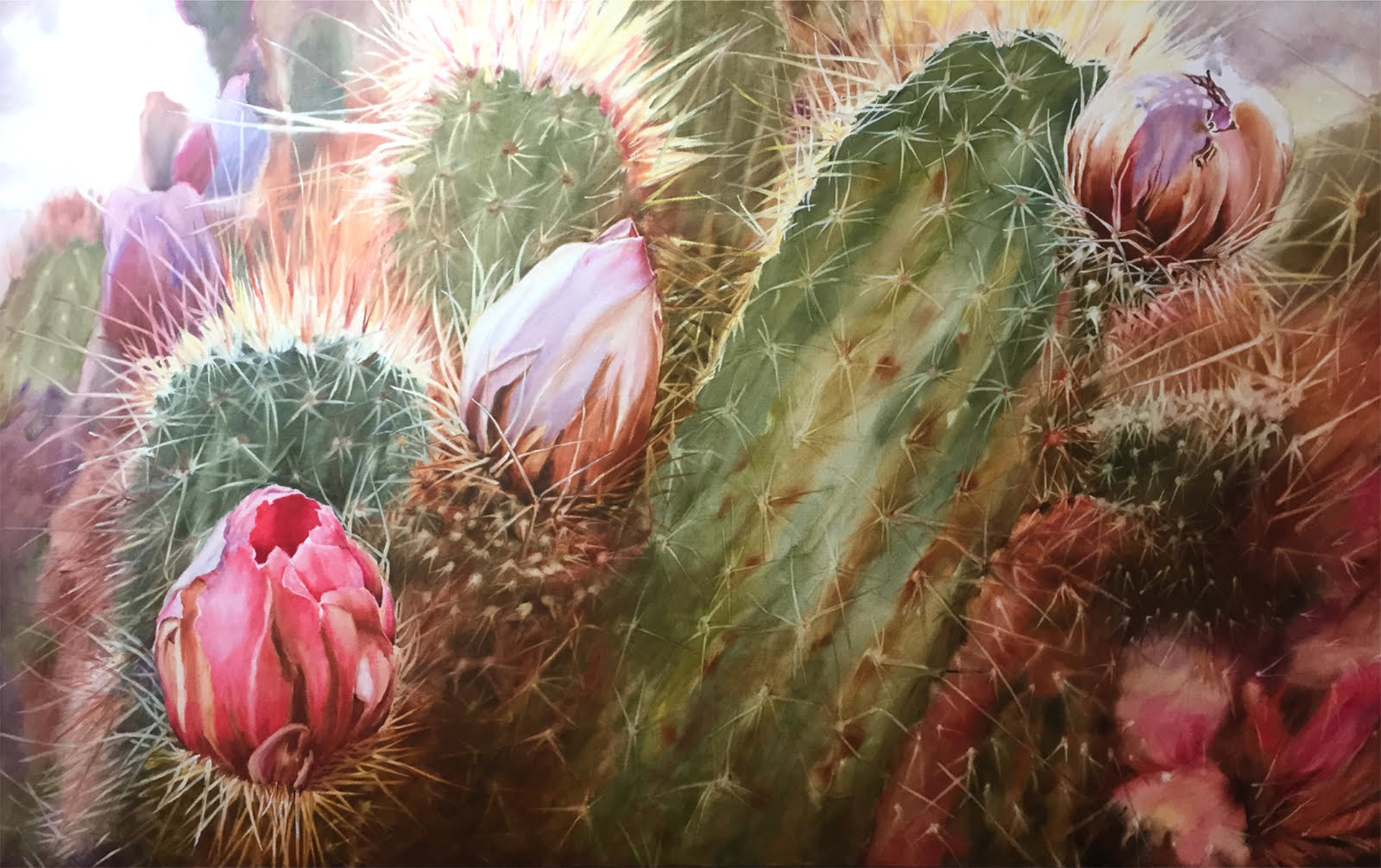 Cactus Glory by Cher McMacken