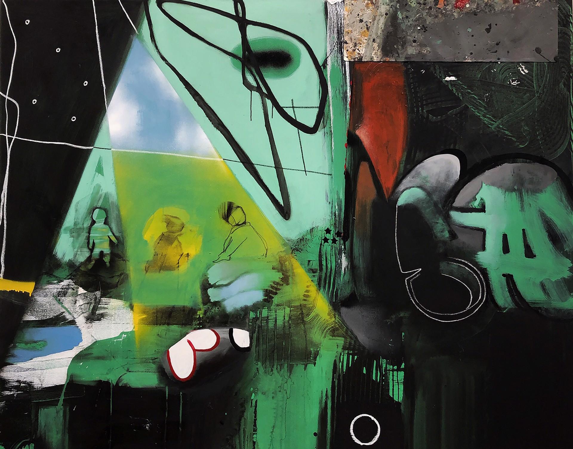 Tent City #7 by Marcus Jansen (b. 1968)