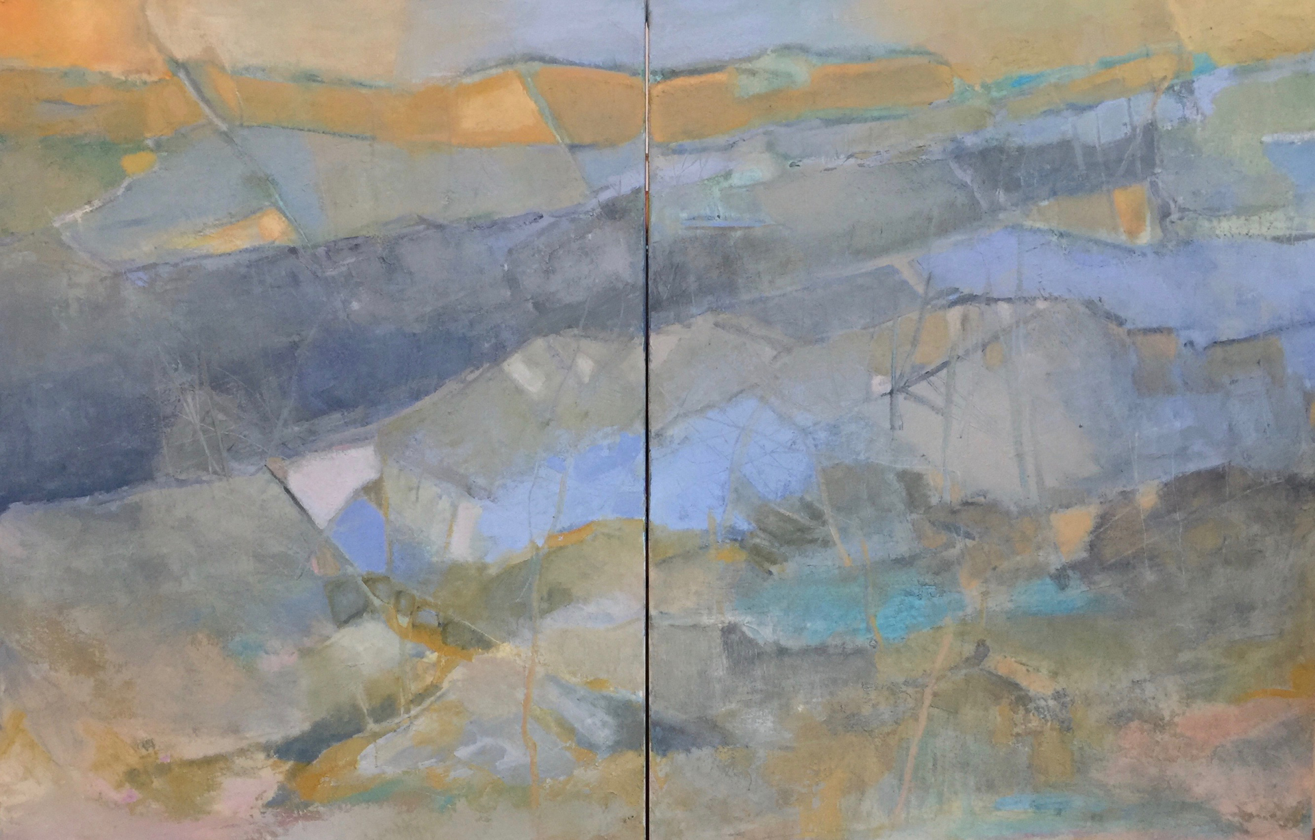 My Journey-Diptych by Nella Lush