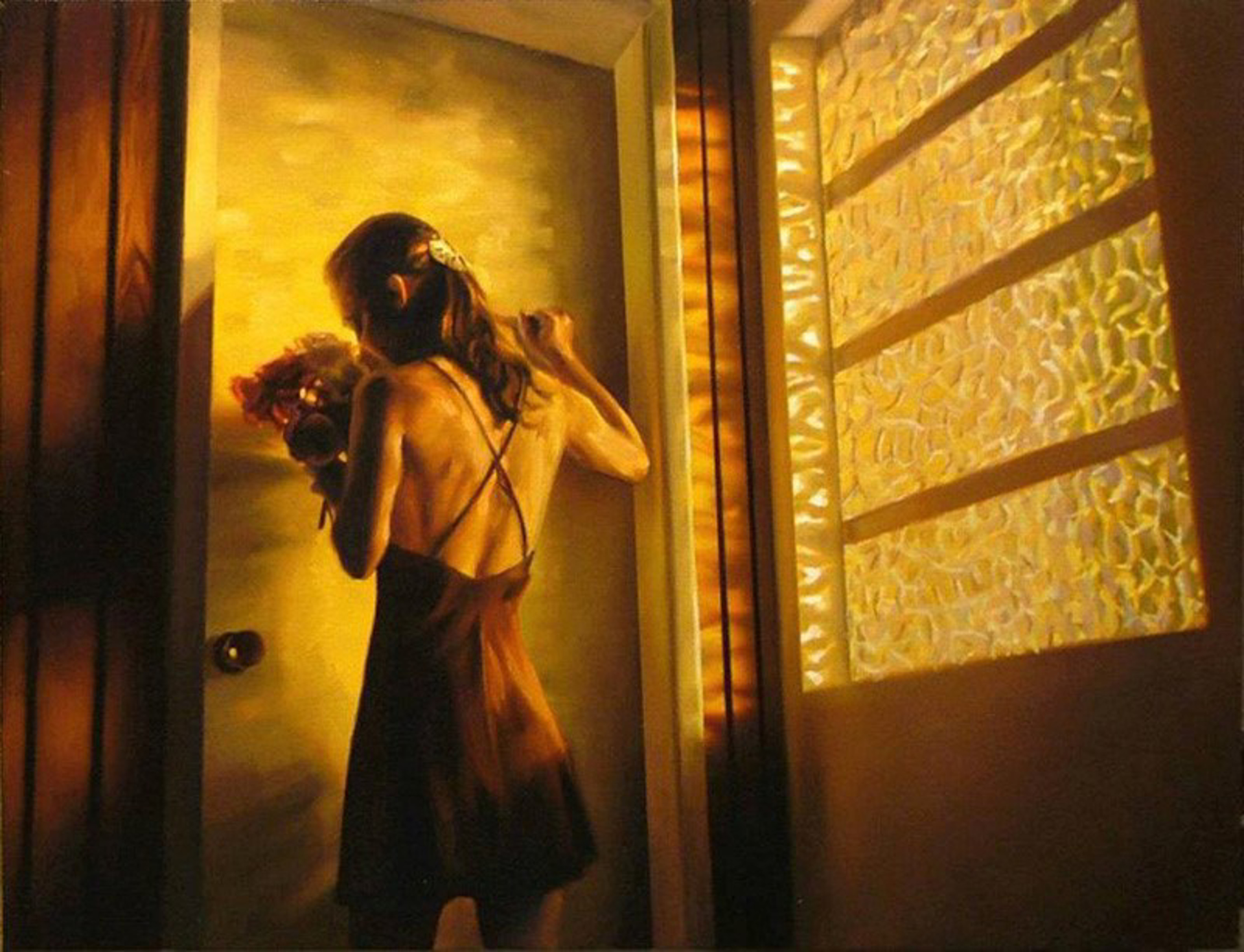 The Goings-On In the House (S/N) by Carrie Graber