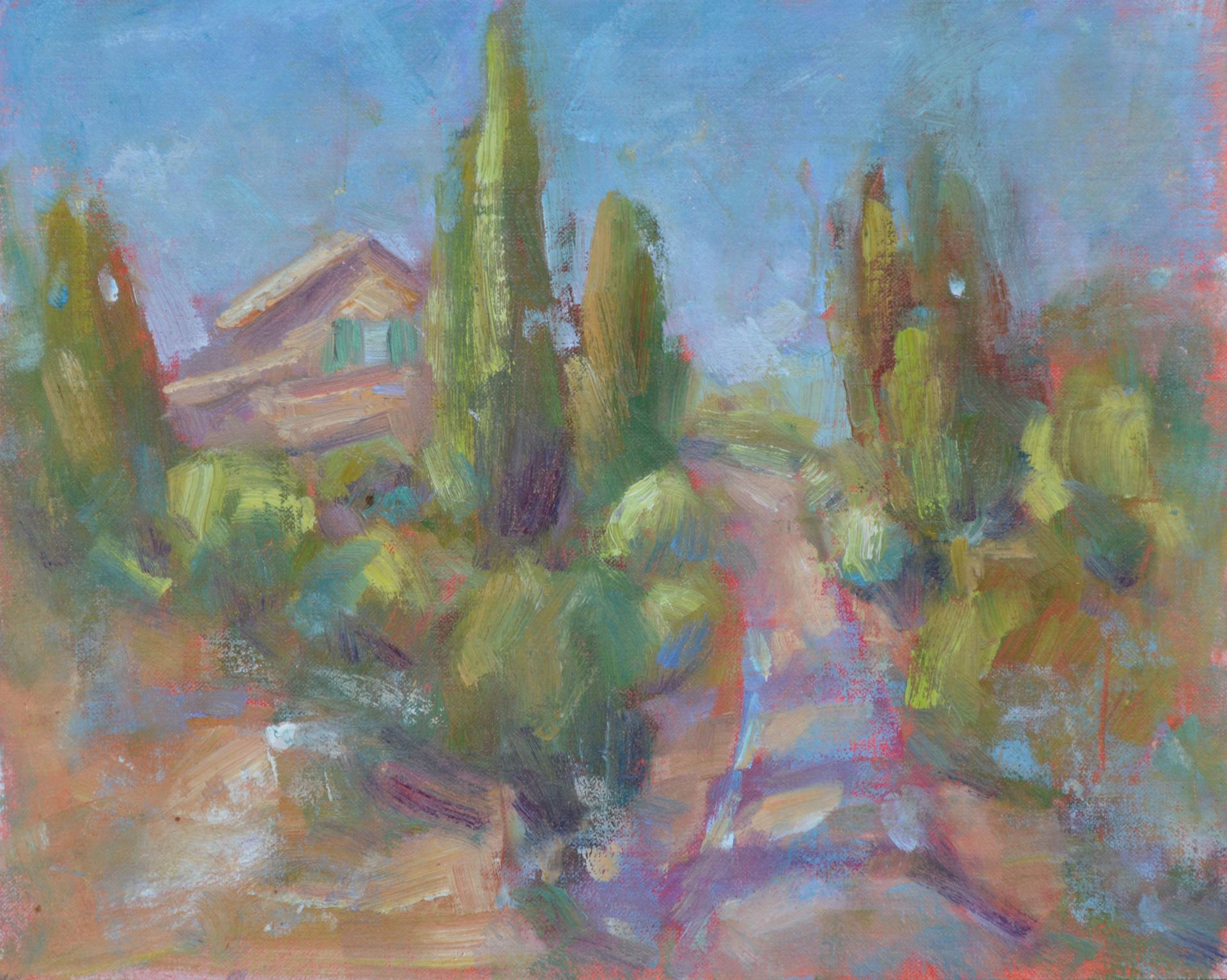 My Road to Tuscany by Karen Hewitt Hagan