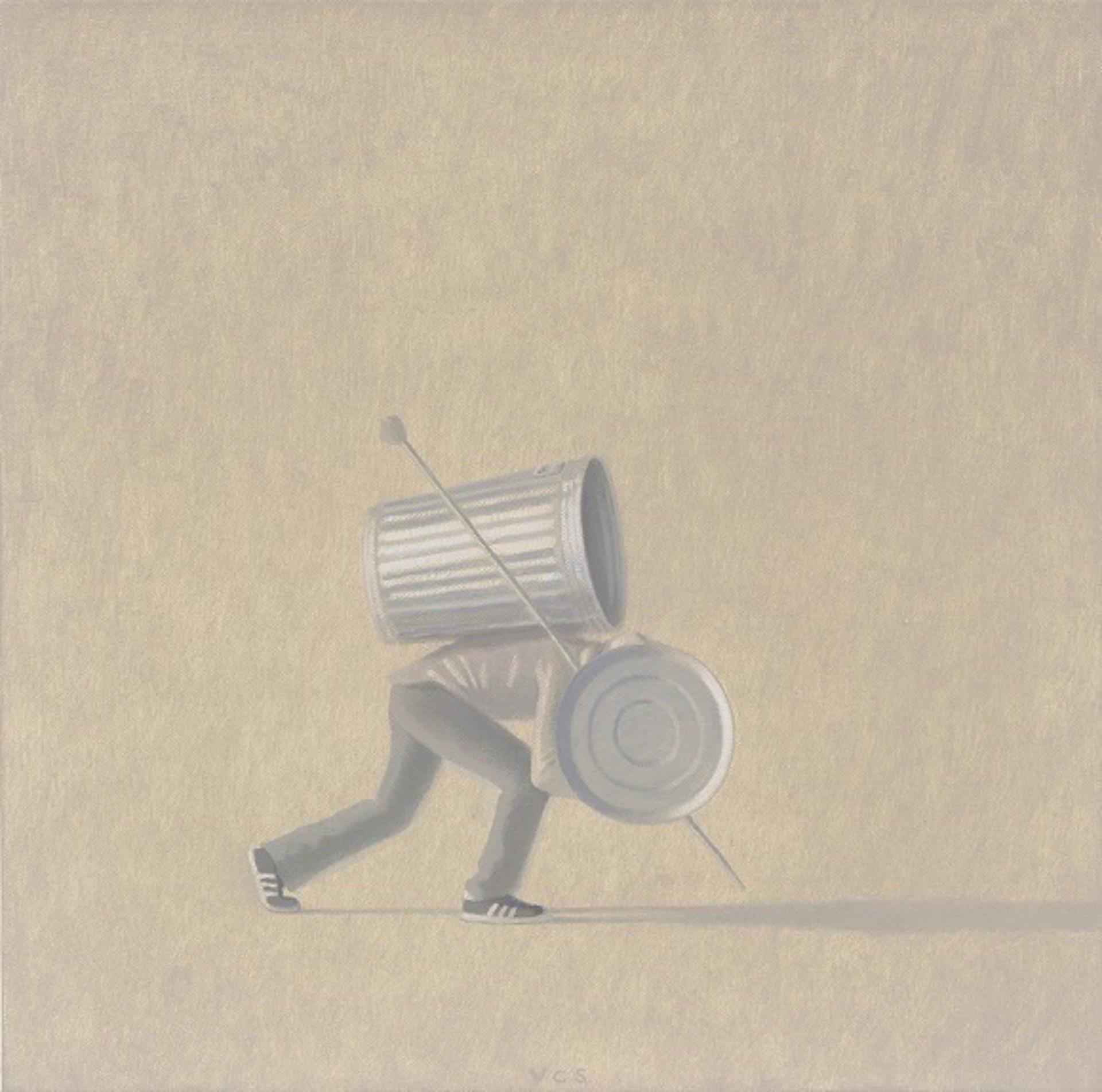 Warrior Moving in Smoke by Vonn Cummings Sumner