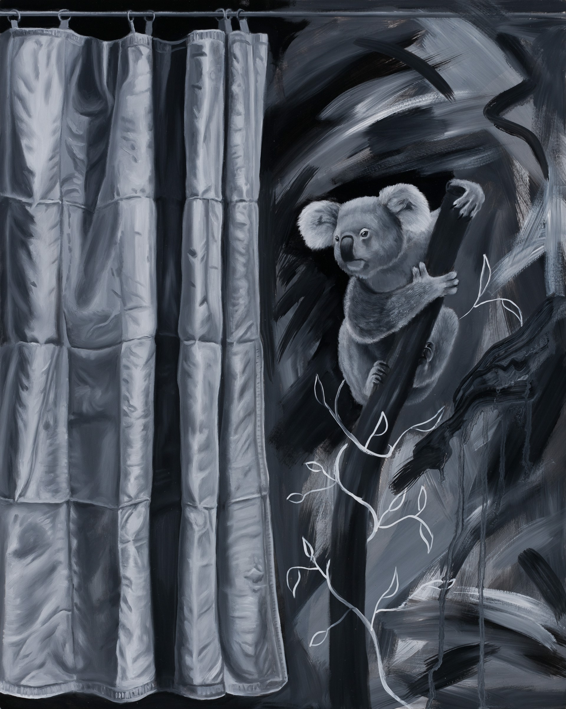 Behind the Curtain by Robin Hextrum