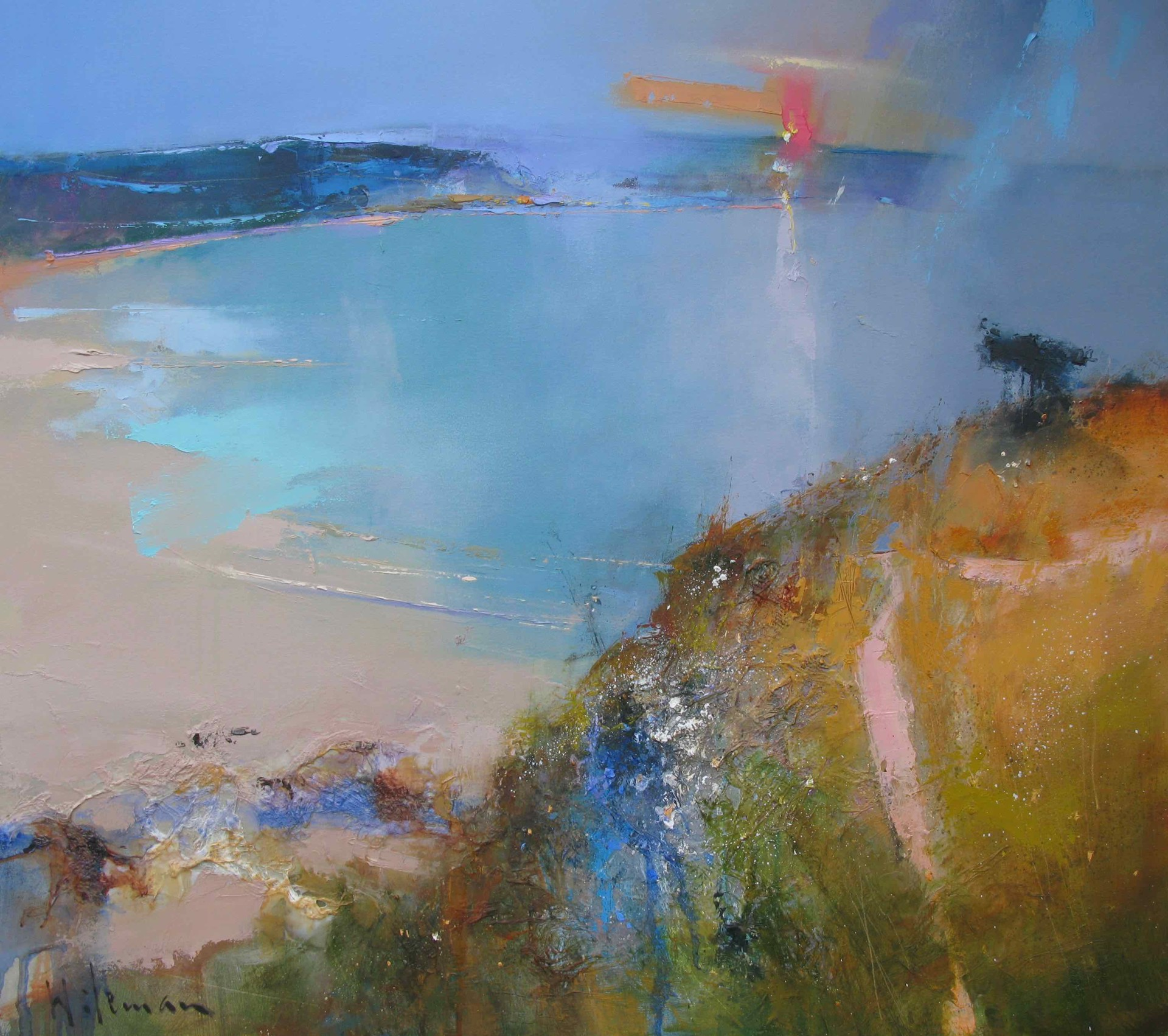 The Coastal Path by Peter Wileman