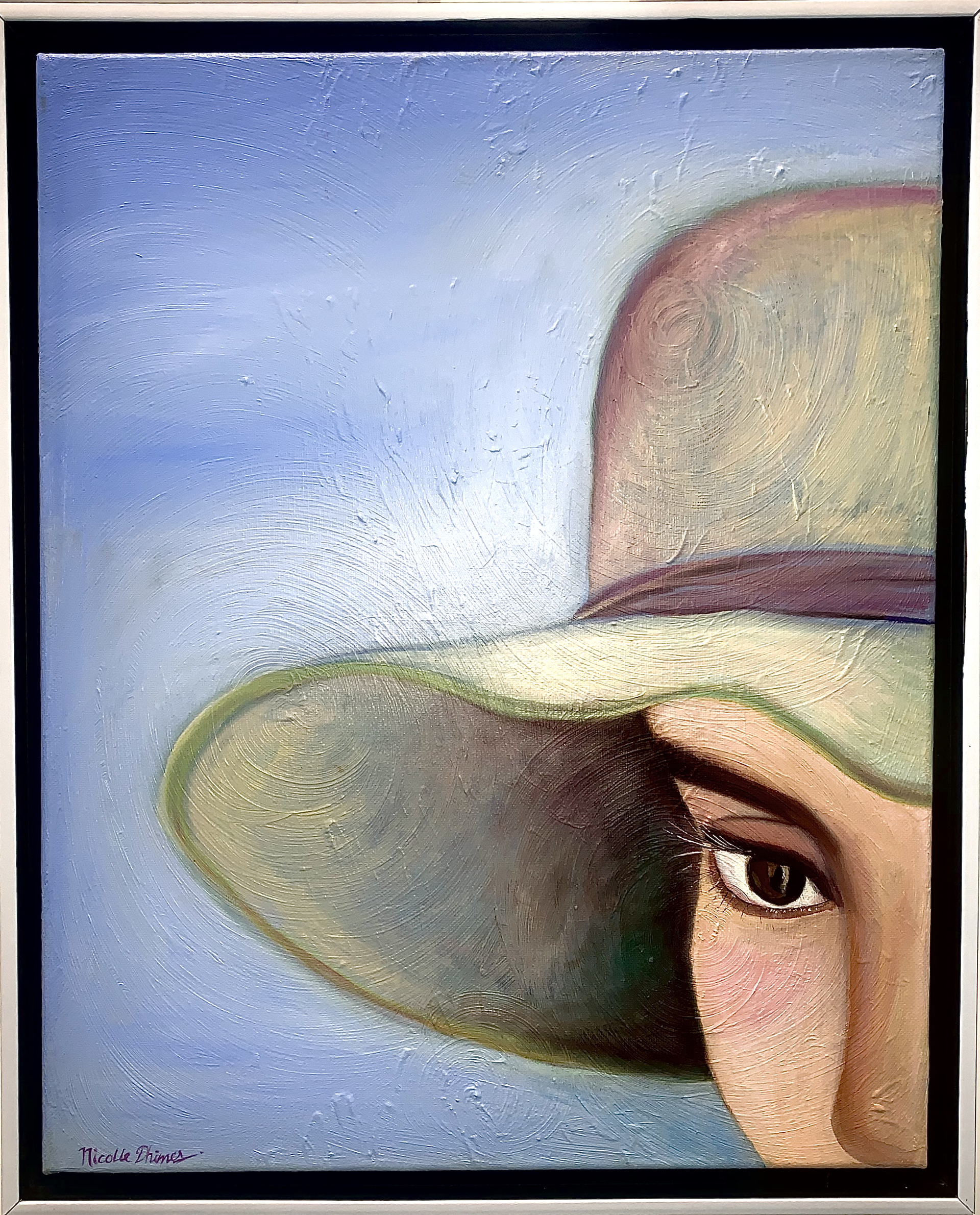 Girl In Hat  by Nicolle Dhimes