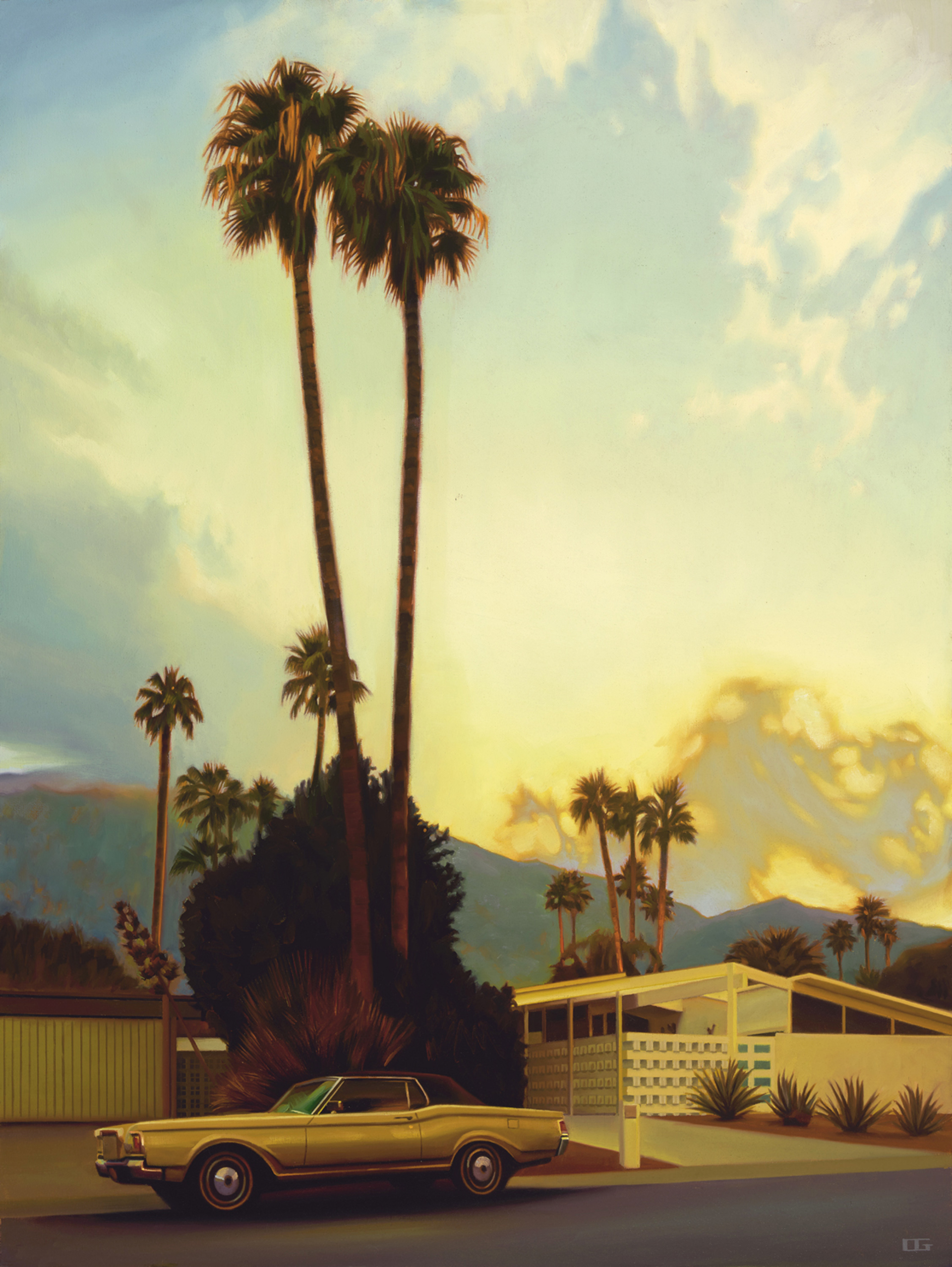 The Dinner Hour on Fair Circle (S/N) by Carrie Graber