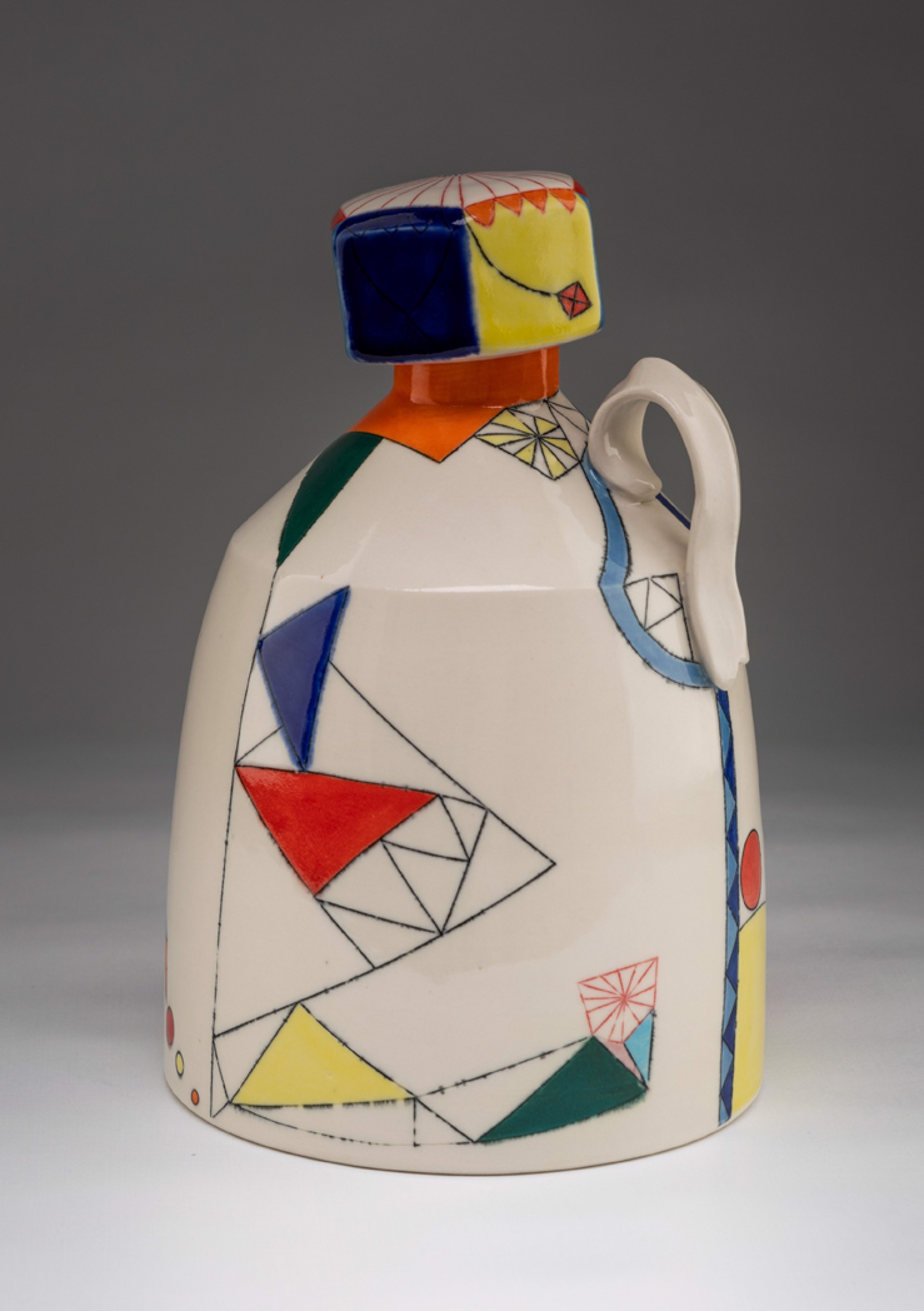 Growler with Screw-Top Lid by Aubrey Purdy Rude & Mat Rude