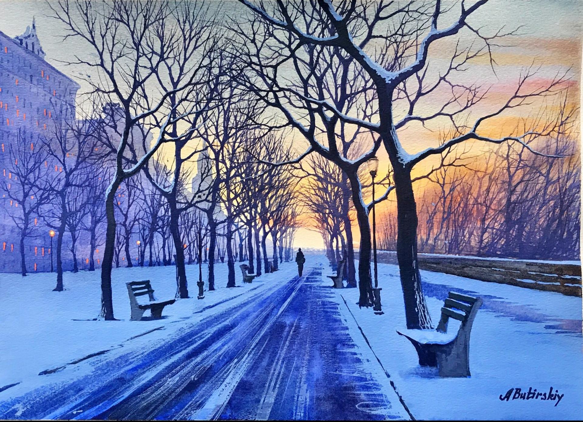 Winter Solstice by Alexei Butirskiy